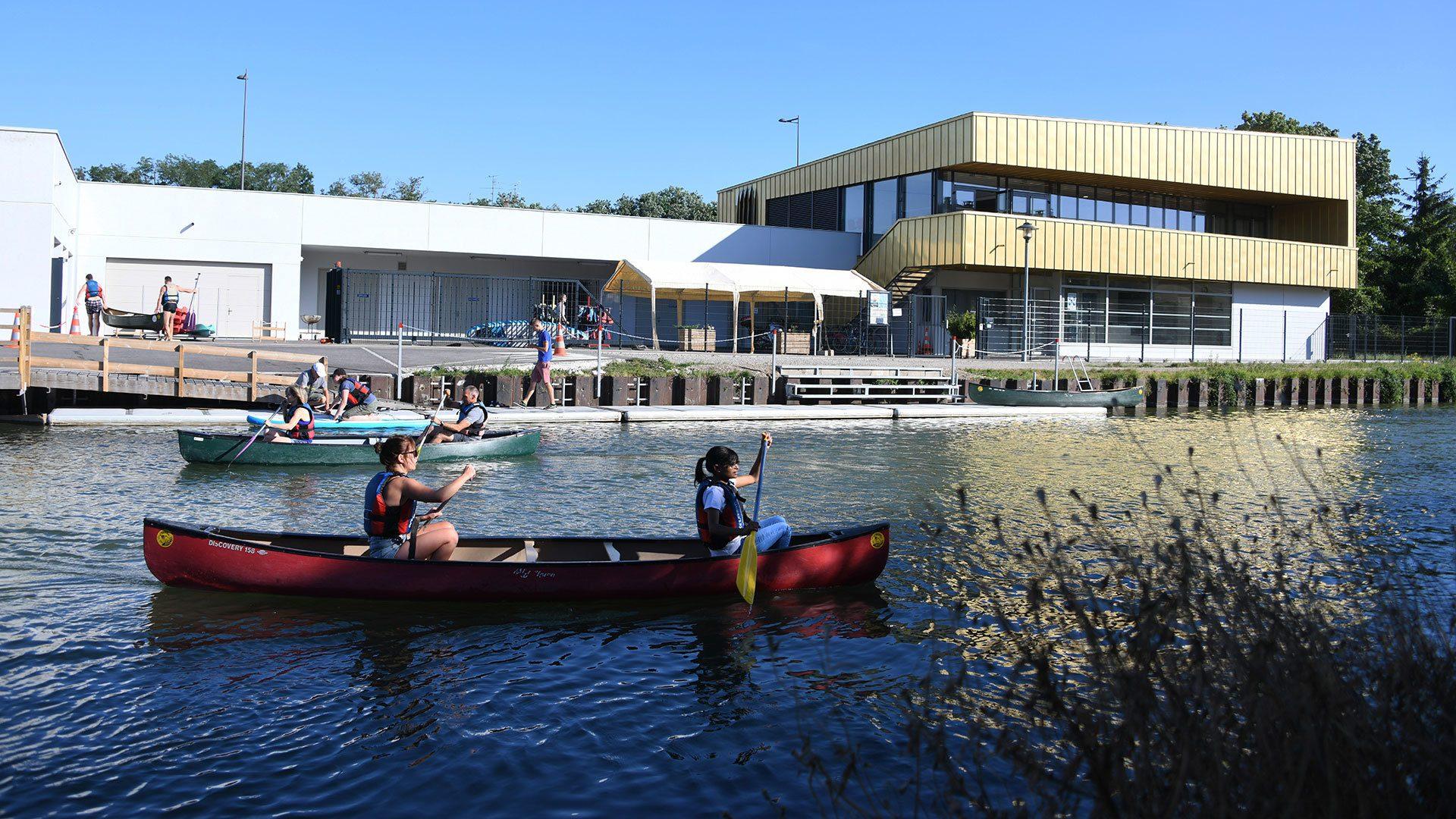 Un after-work sportif au Club de canoe-kayak de Riedisheim