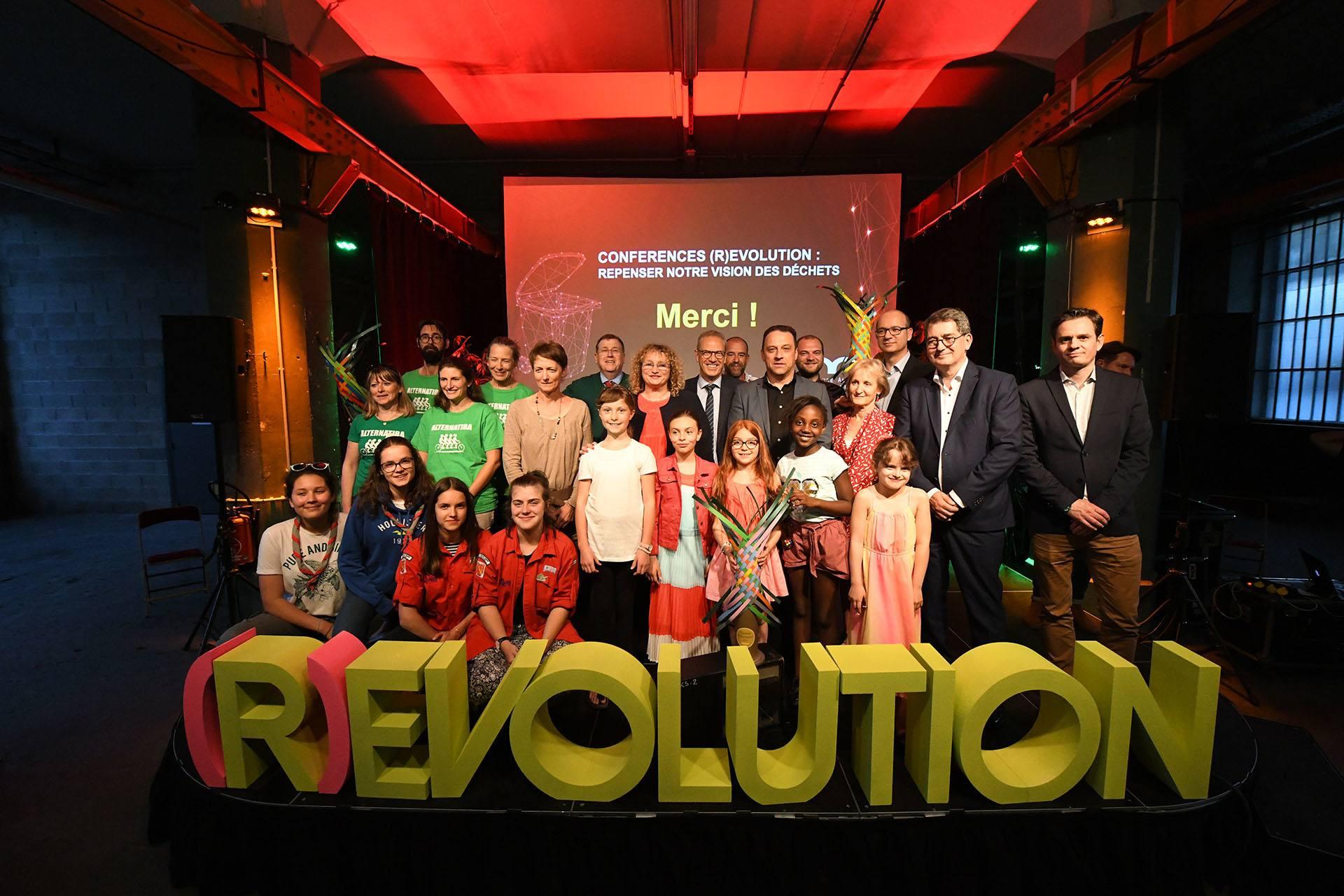 Conférence Révolution sur la réduction des déchets