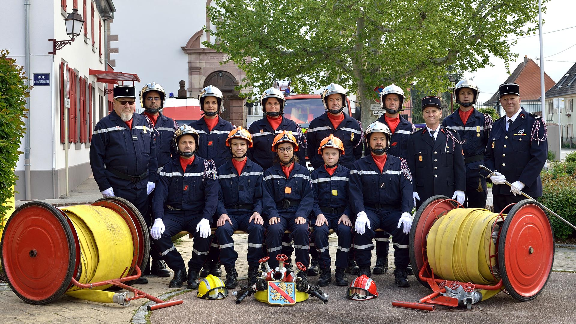 Les pompiers de Feldkirch