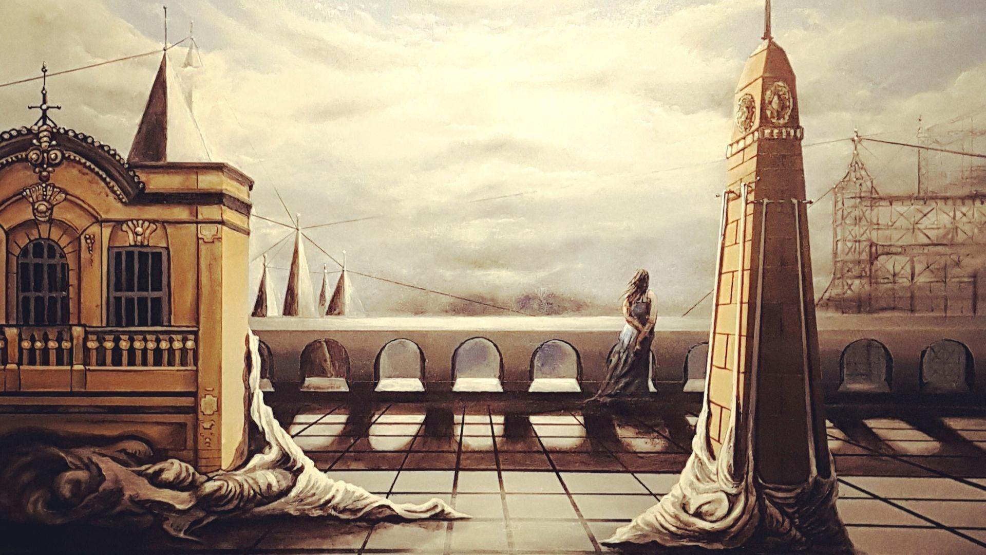 Les toiles surréalistes de Thomas Bossert
