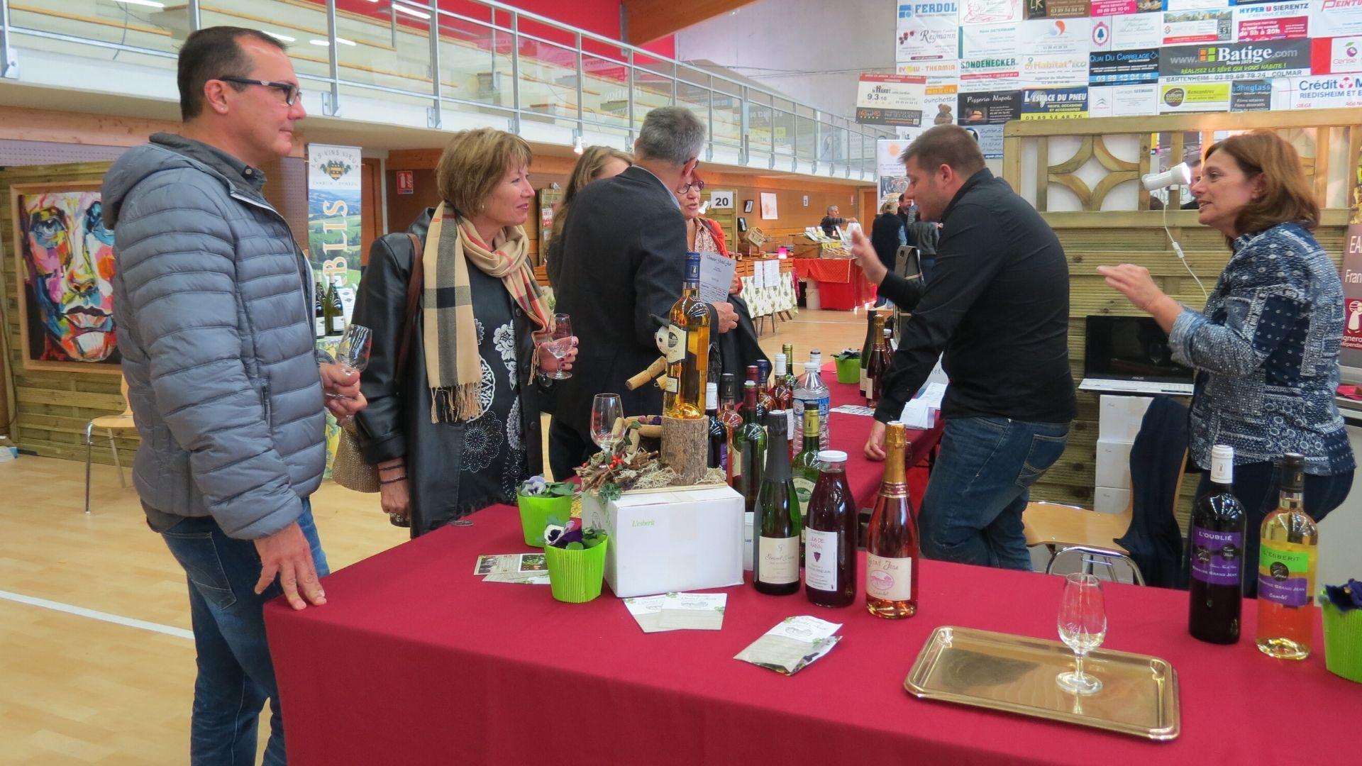 Dégustations au Salon des vins