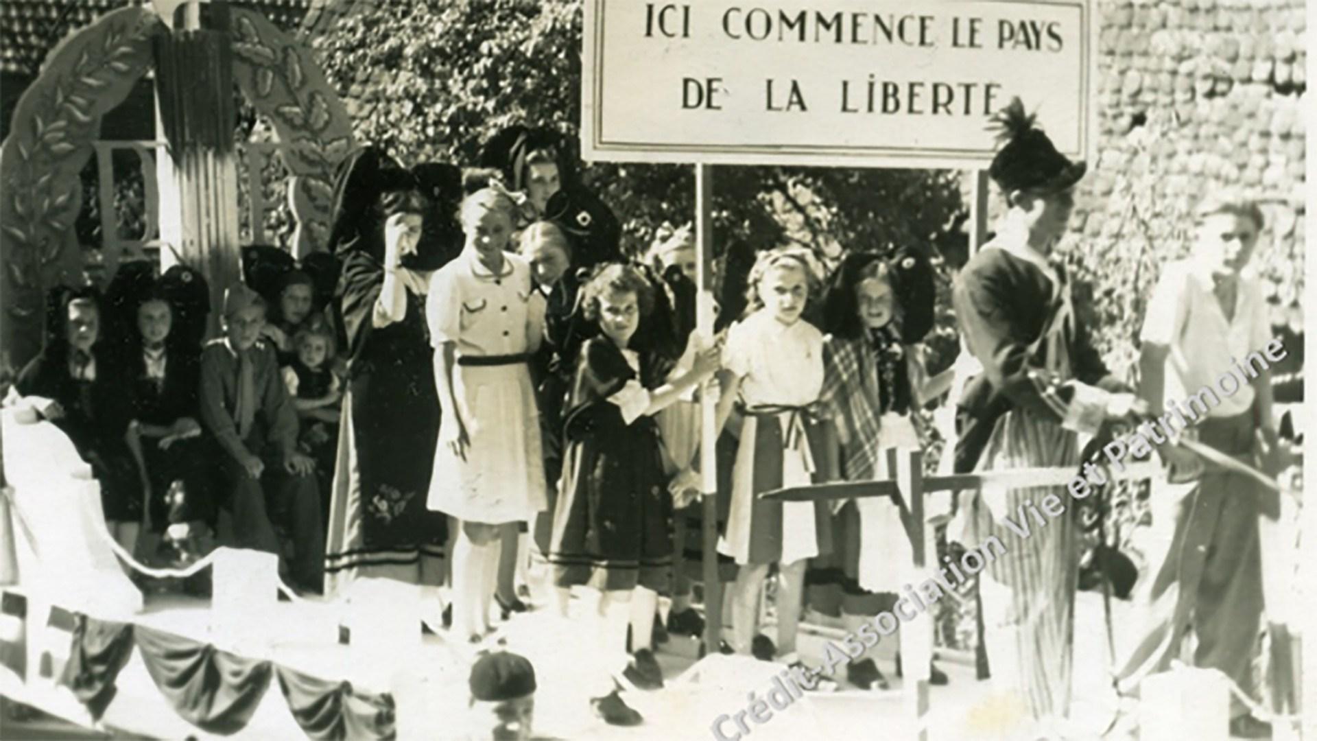 Fête de la Libération de Brunstatt, 1945