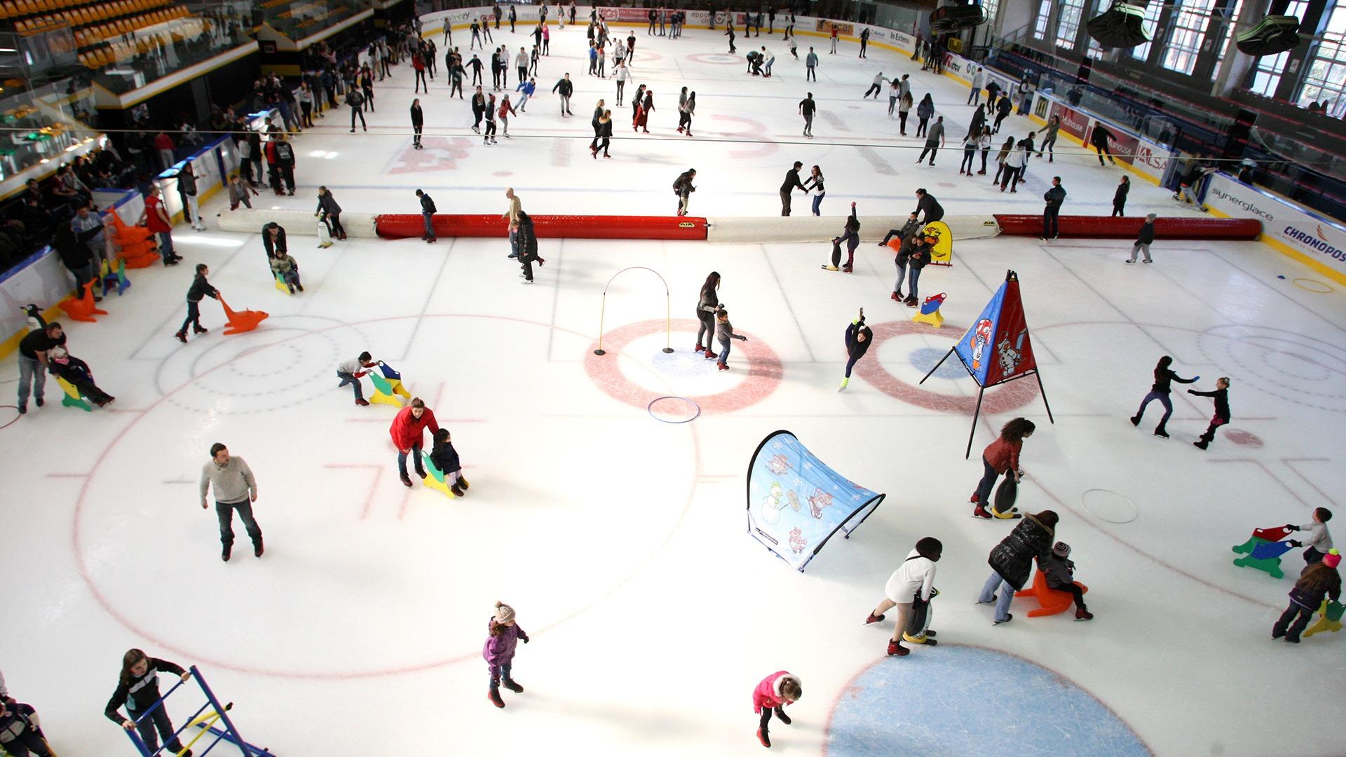 La patinoire olympique de Mulhouse