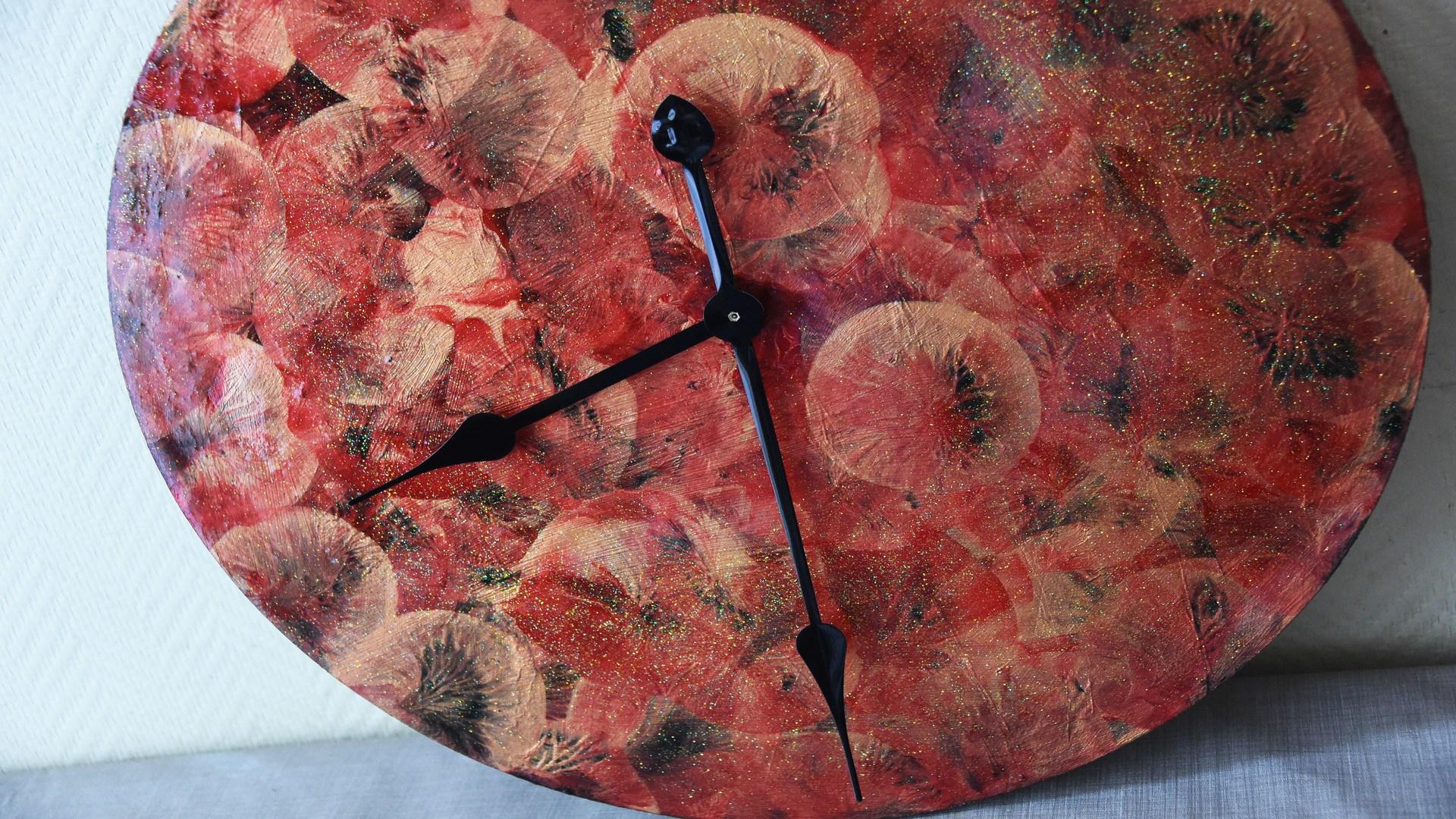 Horloge customisée