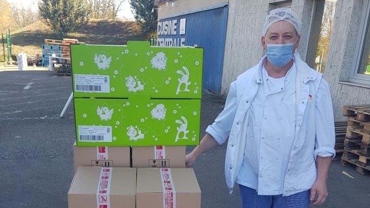 Heimsbrunn : des chocolats pour les soignants | Mulhouse Alsace Agglomération – m2A