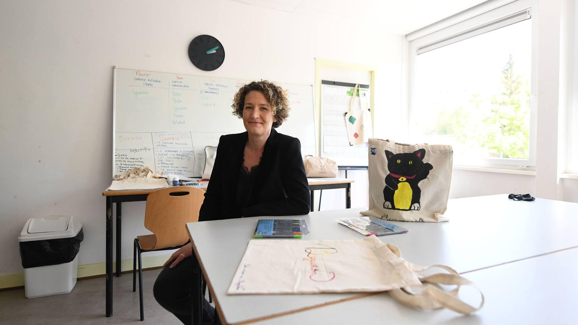 Barbara bucher, directrice de l'E2C 68