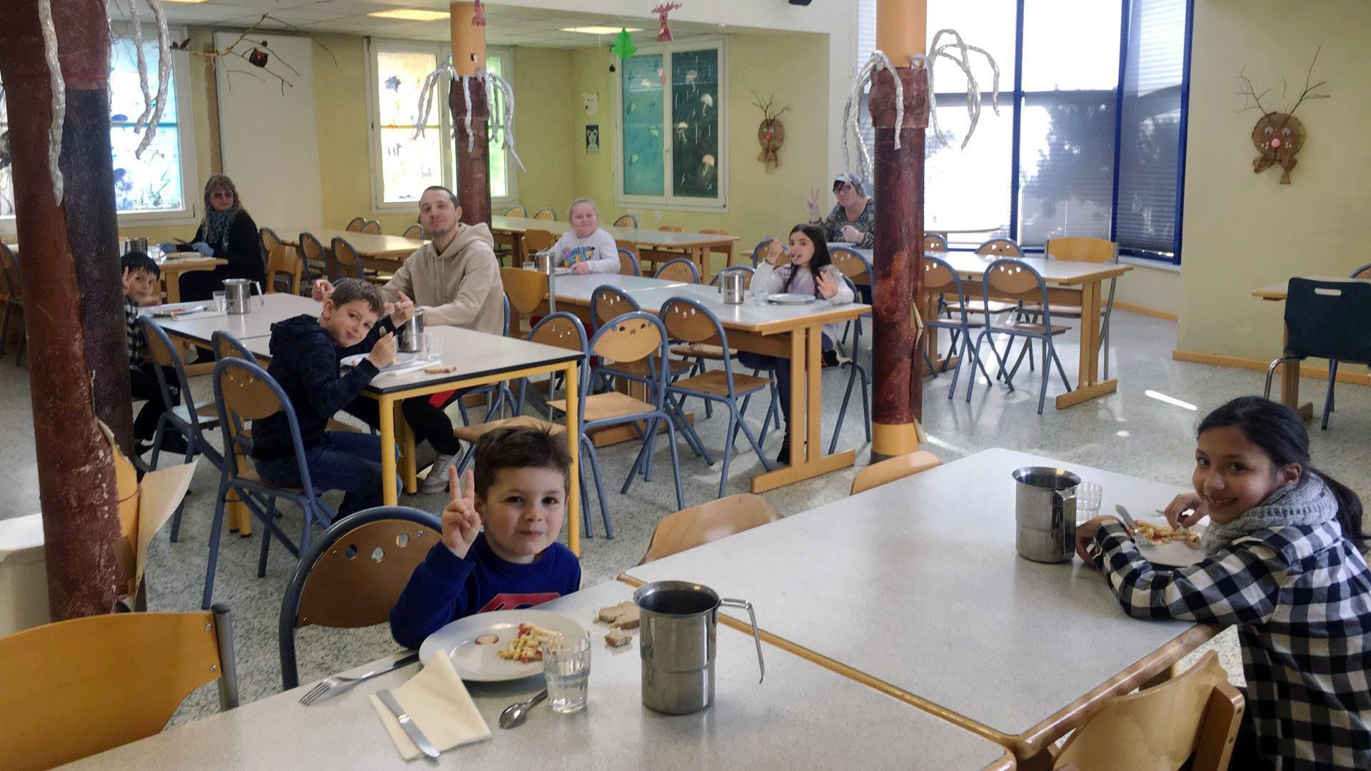 Pfastatt, l'accueil des enfants du personnel soignant