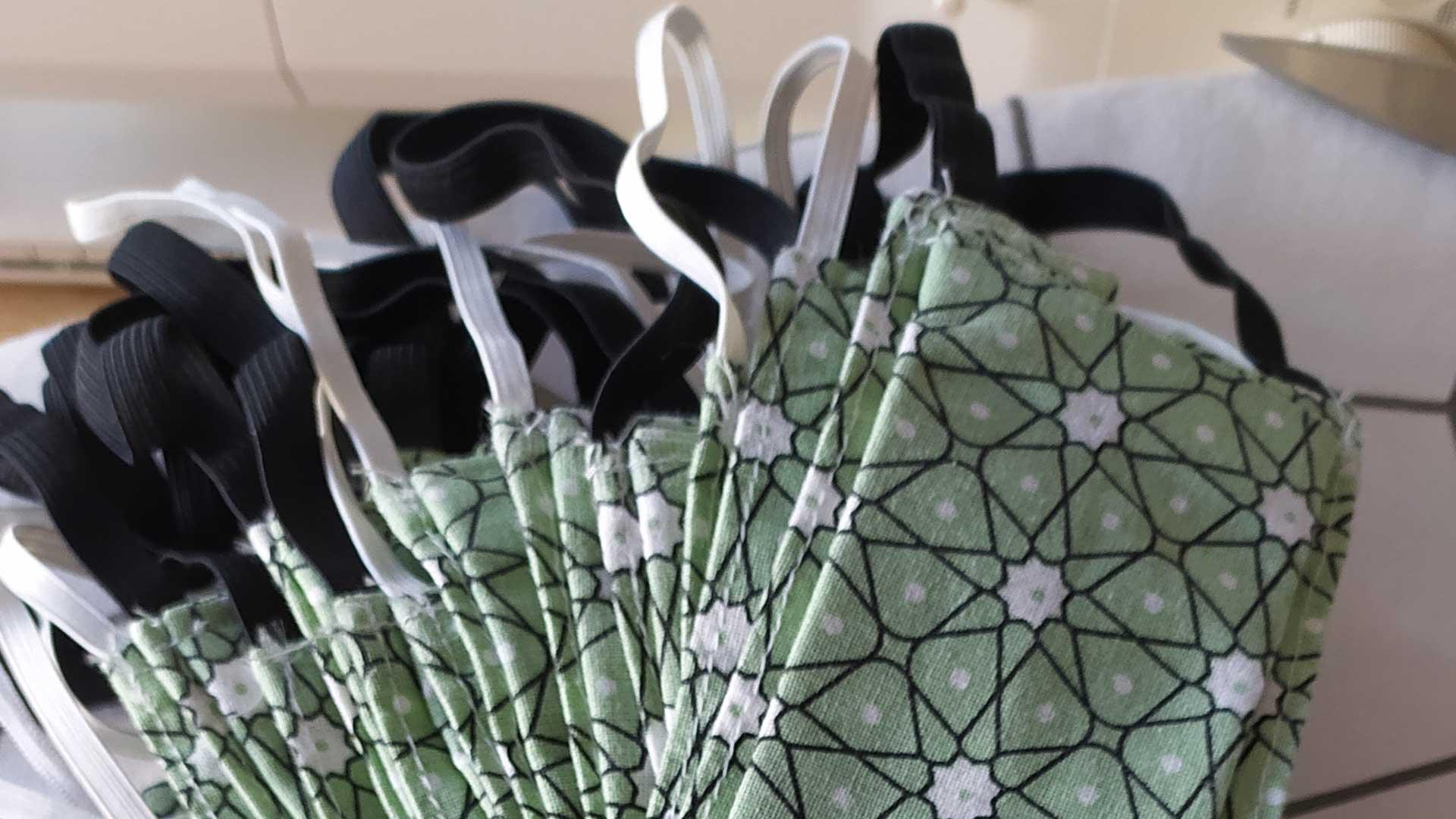 Des masques lavables et réutilisables
