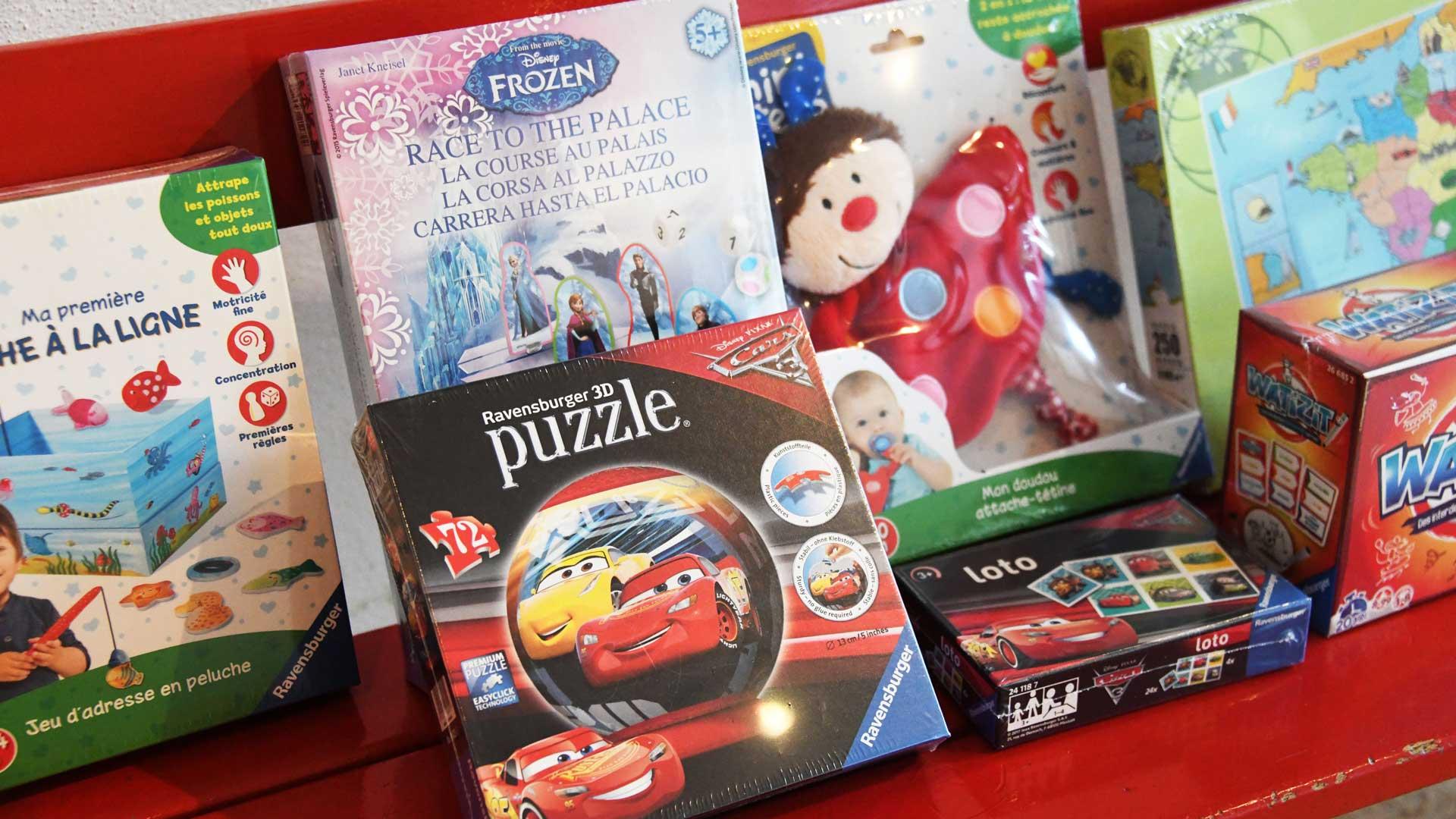Les jeux Ravensburger pour les enfants des soignants !