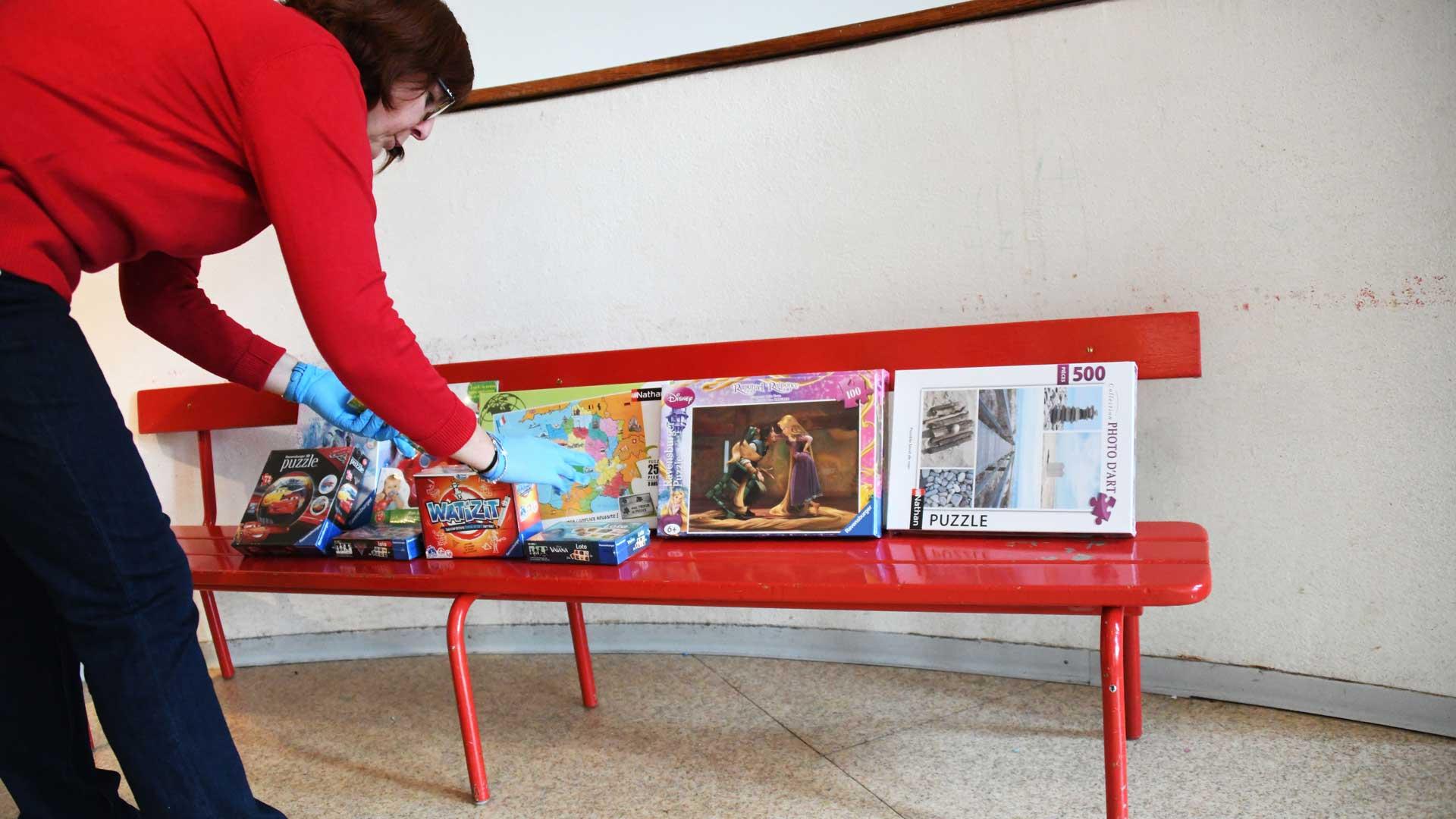 Estelle, ATSEM investie à l'école Pierrefontaine
