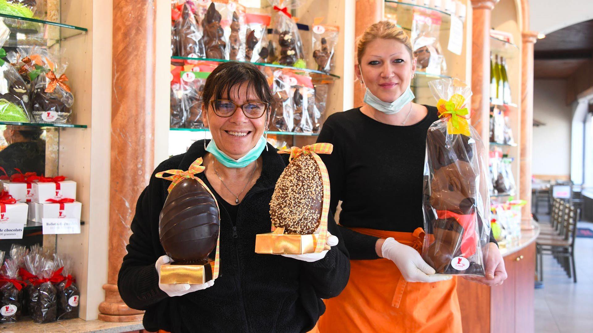 Les chocolats de Pâques de chez D'r Elsasser