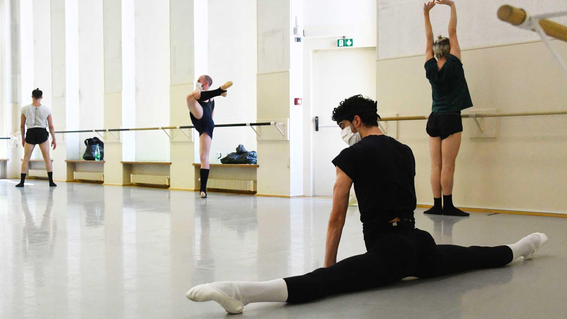 Des danseurs du Ballet de l'ONR venus du monde entier