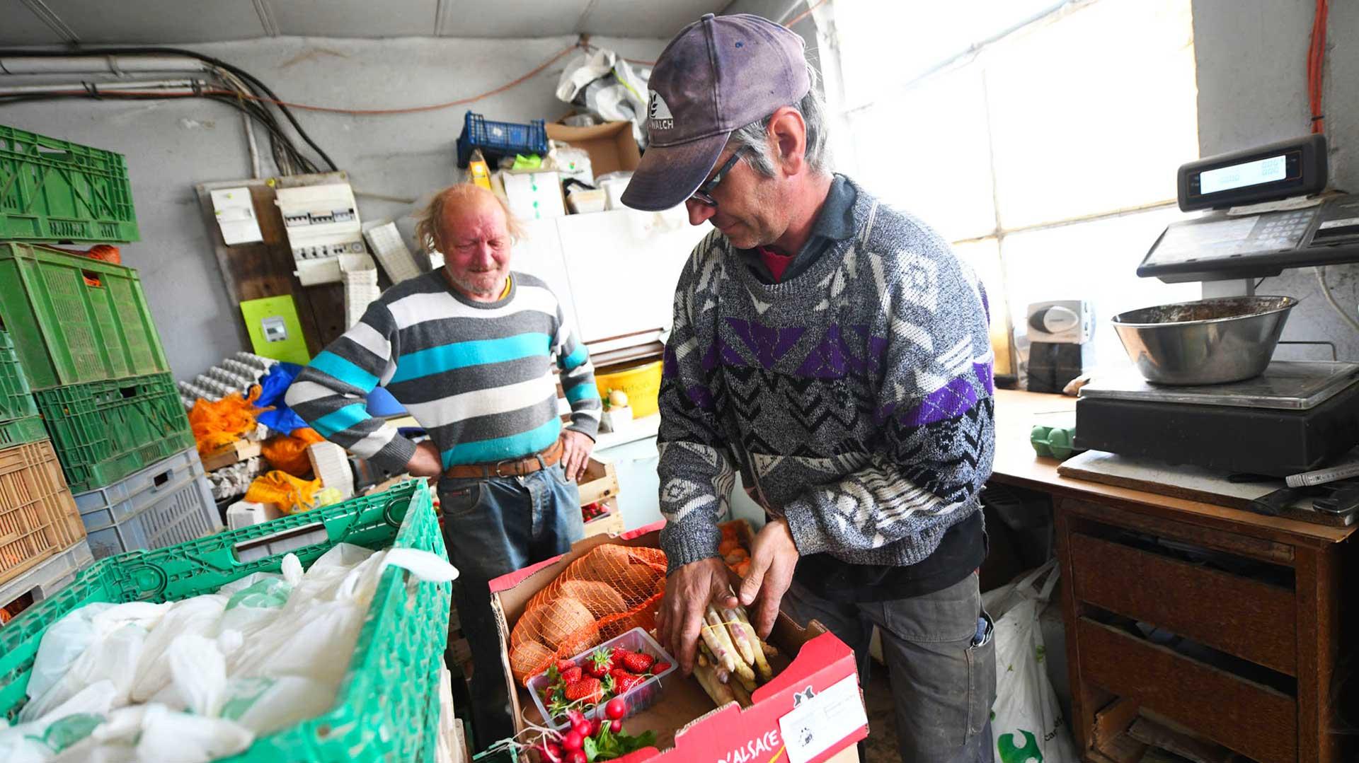 La ferme Roellinger fournit aussi des paniers aux Amap