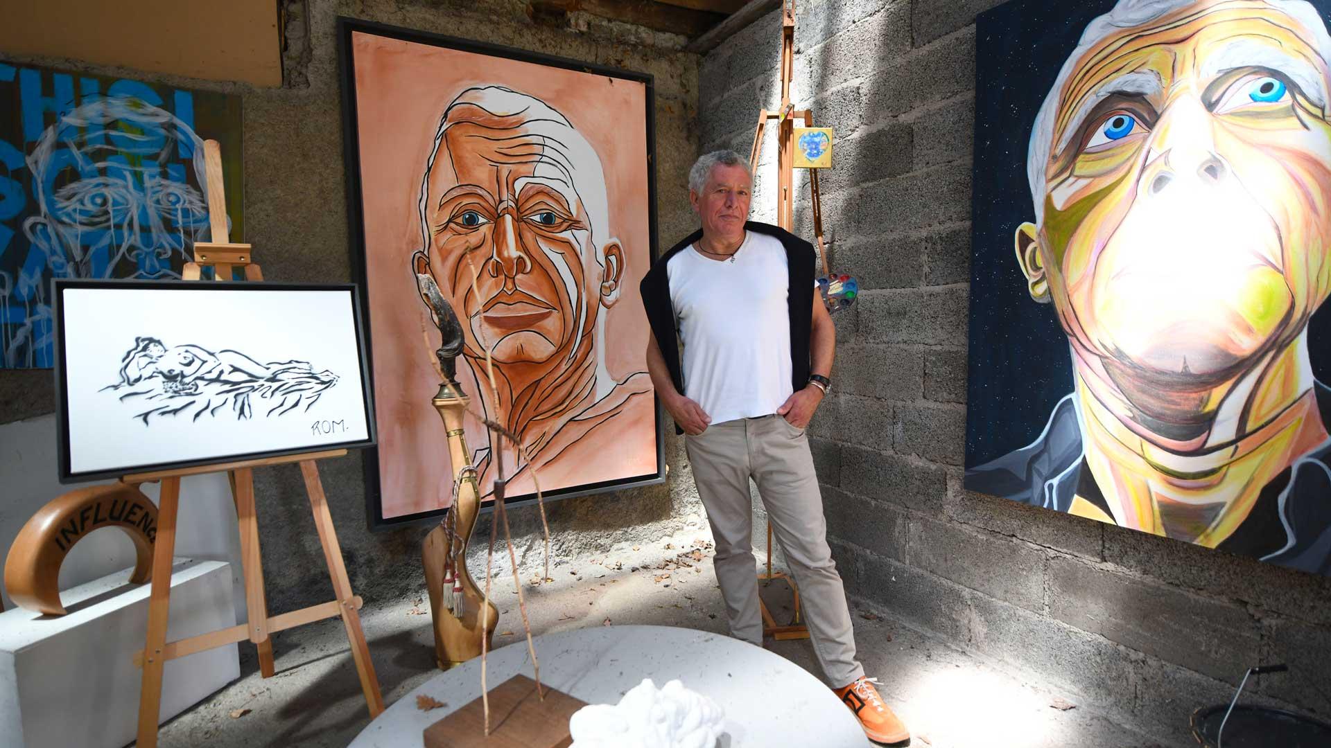 Robert Montanaro, artiste mulhousien