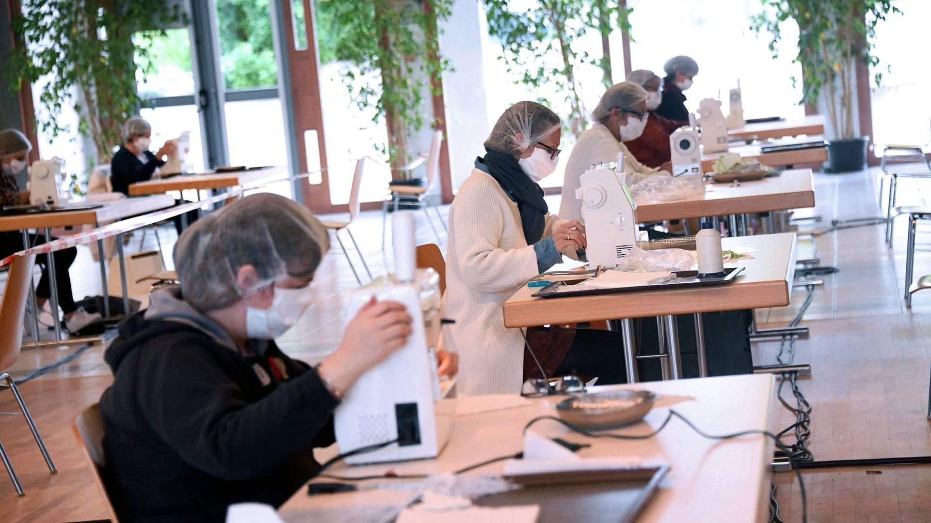 À Illzach, la capacité de l'atelier a été doublée pour accueillir toutes les bonnes volontés