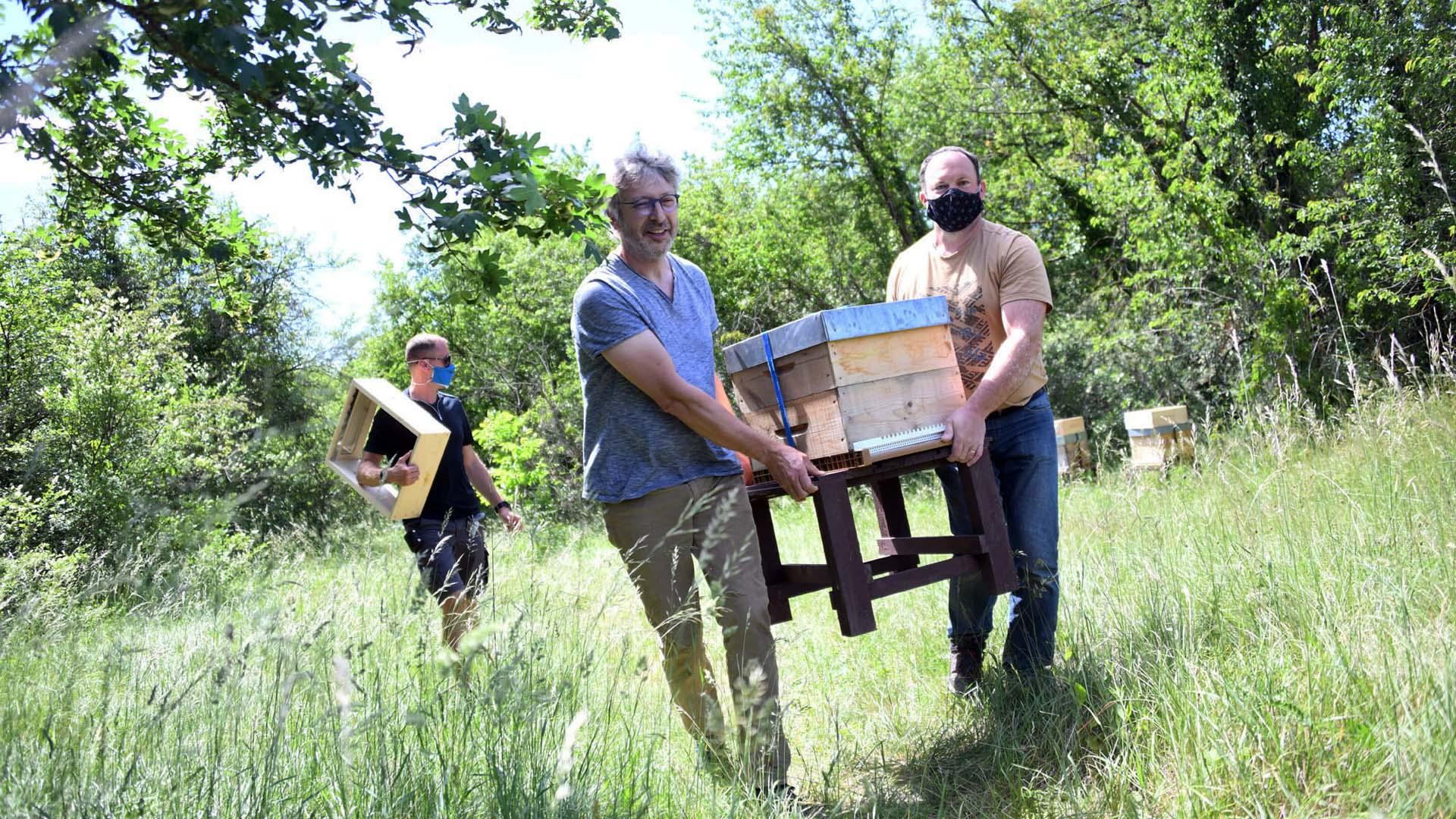 Association, apiculteur et services techniques