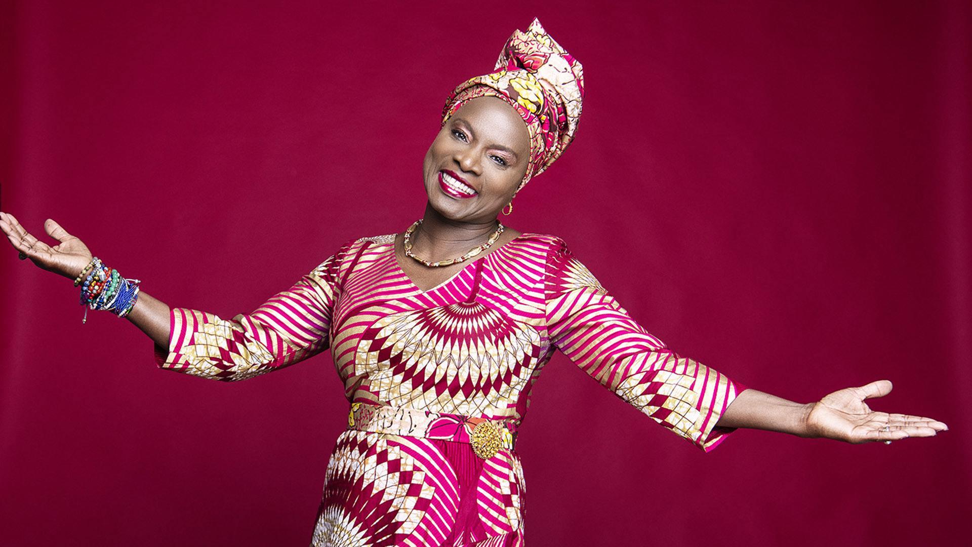 La radieuse Angélique Kidjo