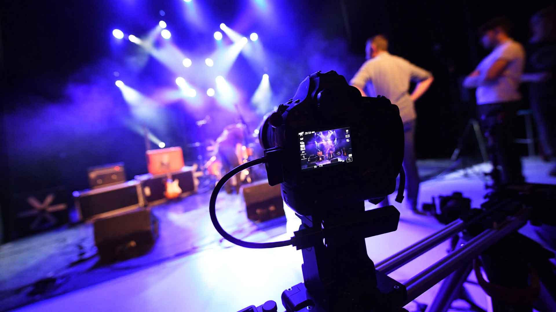 Des concerts filmés et diffusés sur internet !