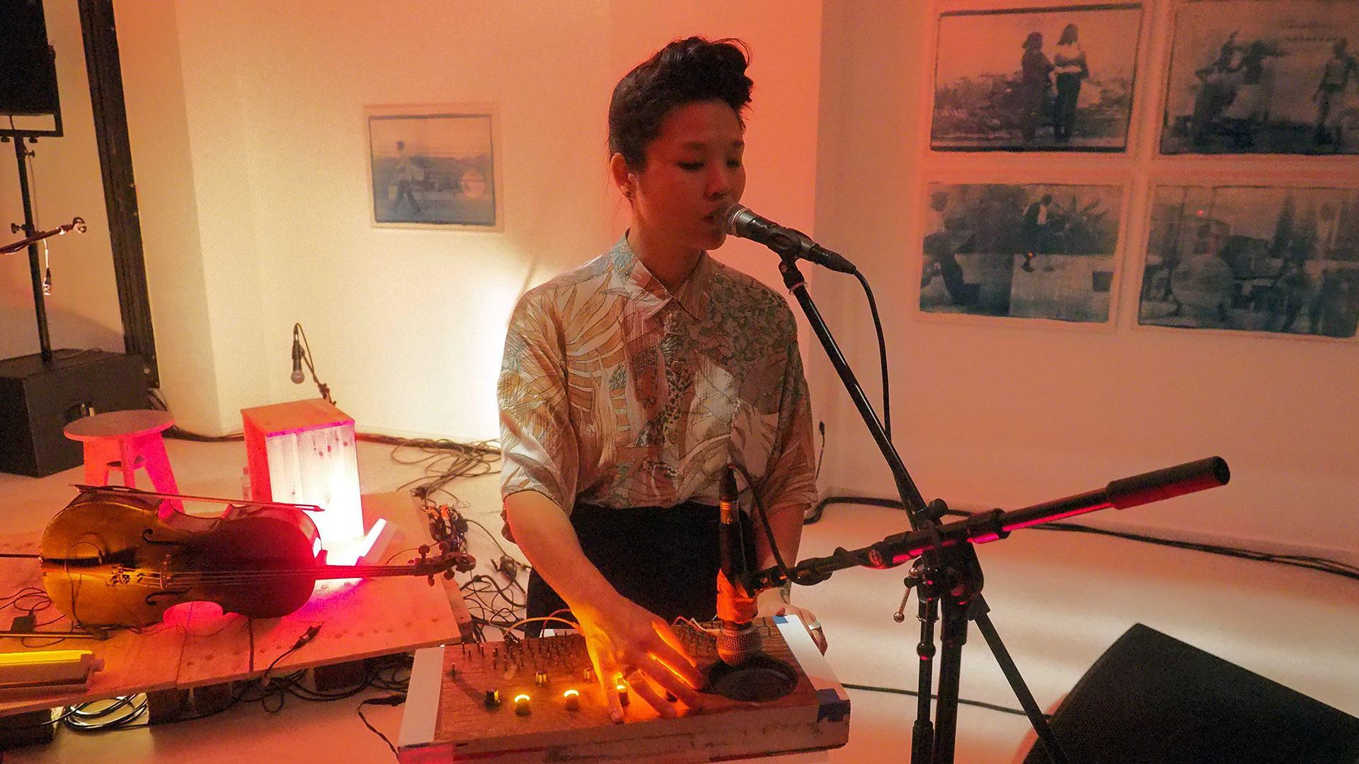 Audrey Chen en concert et workshop