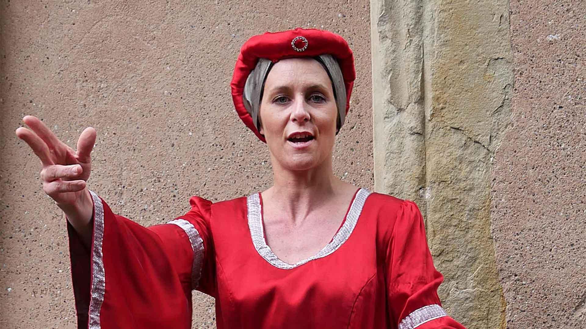 La Comtesse Cunégonde incarnée par Céline Vonderscher