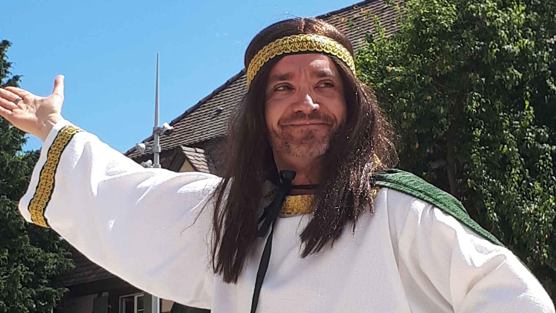 Rodolphe d'Altenbourg incarné par Thierry Wintzner