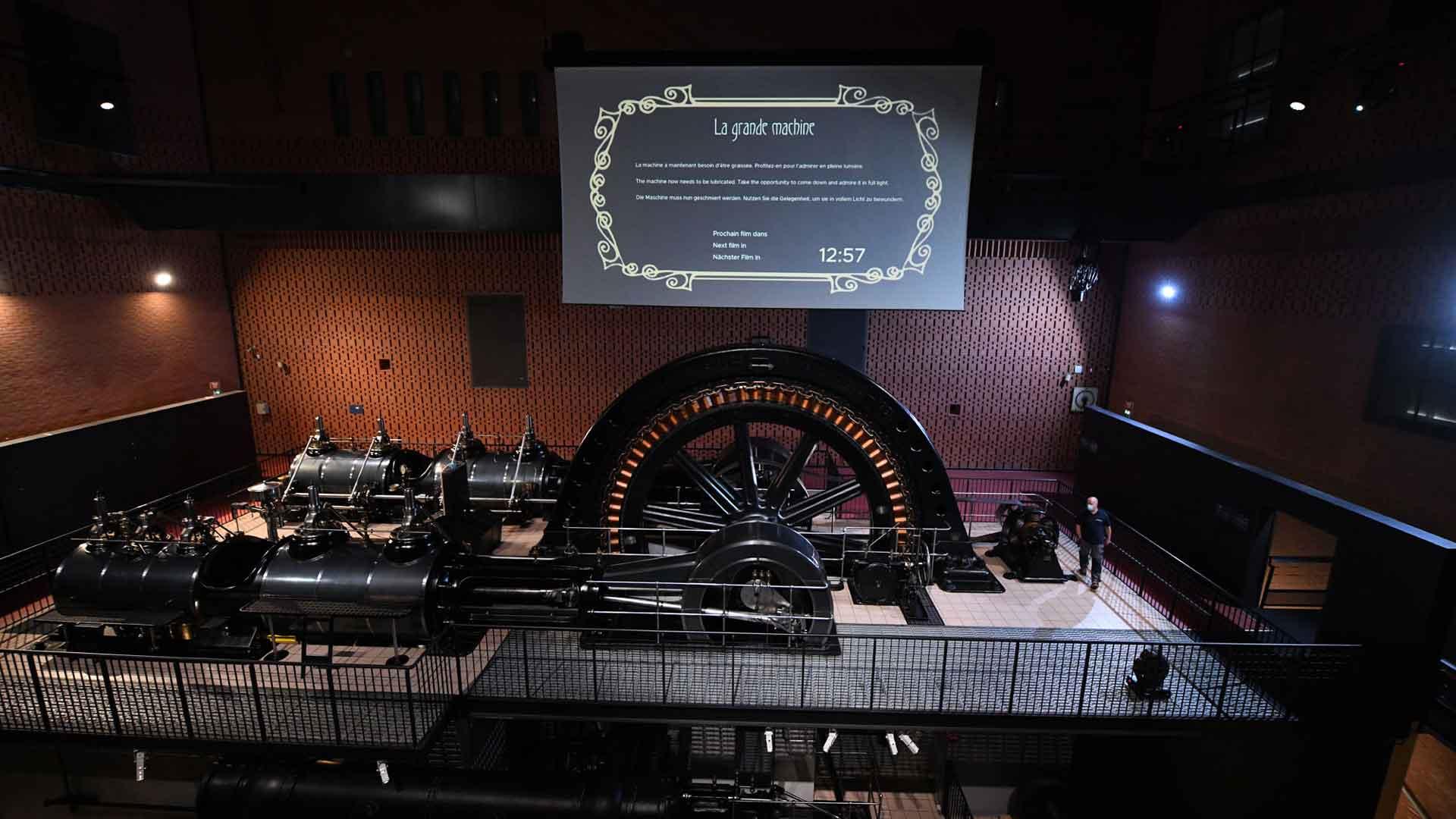 La fameuse Grande Machine Sulzer-BBC