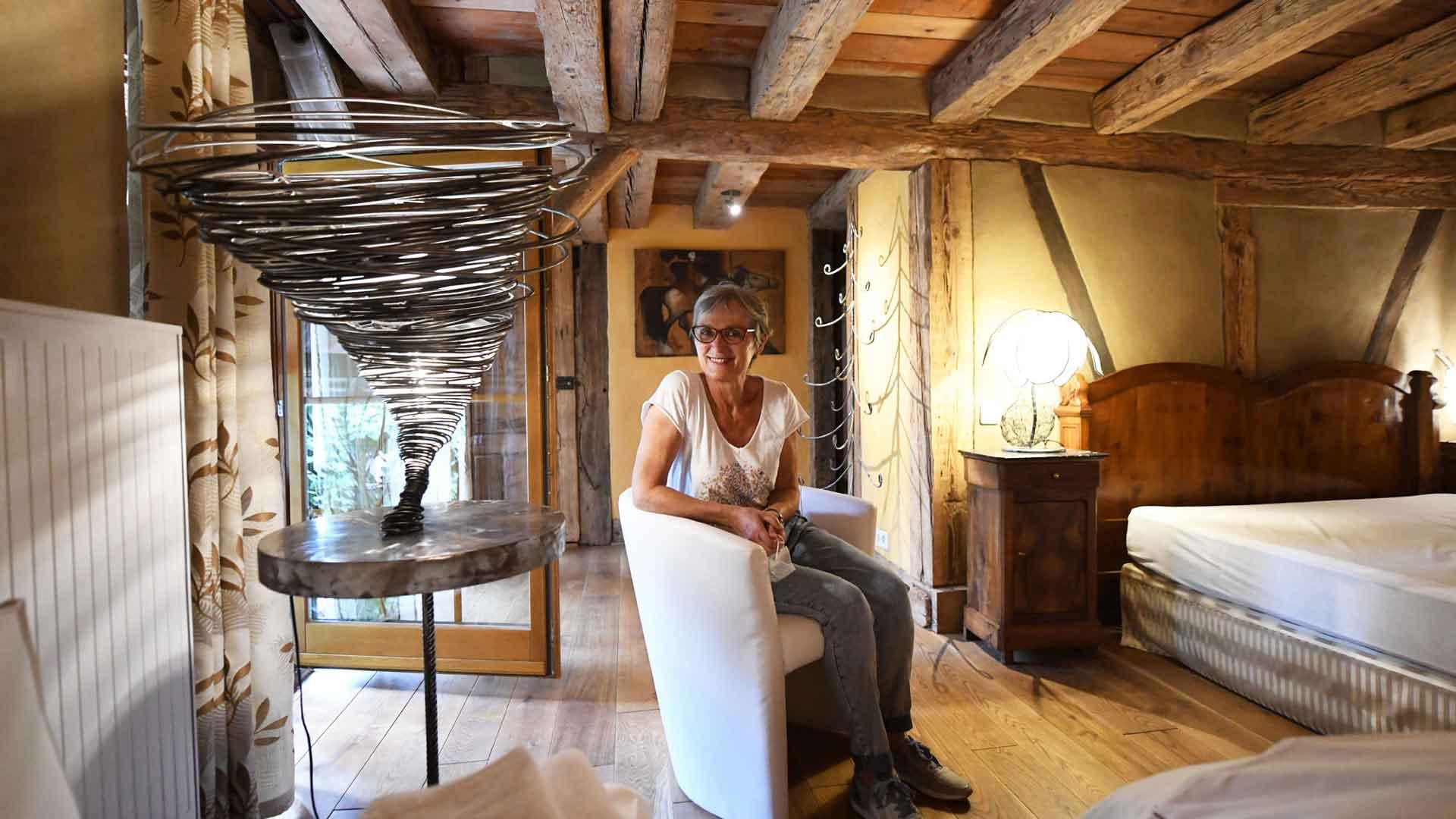 Vincente Blanchard, sculptrice-plasticienne