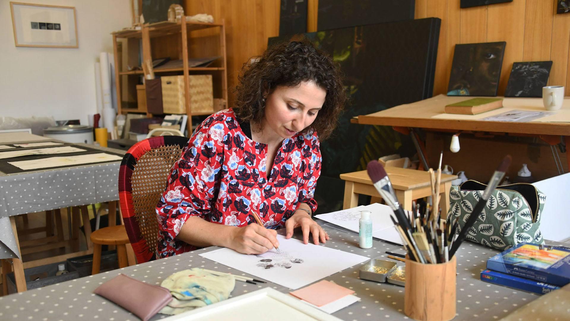 Céline Lachkar, dessinatrice aux multiples talents