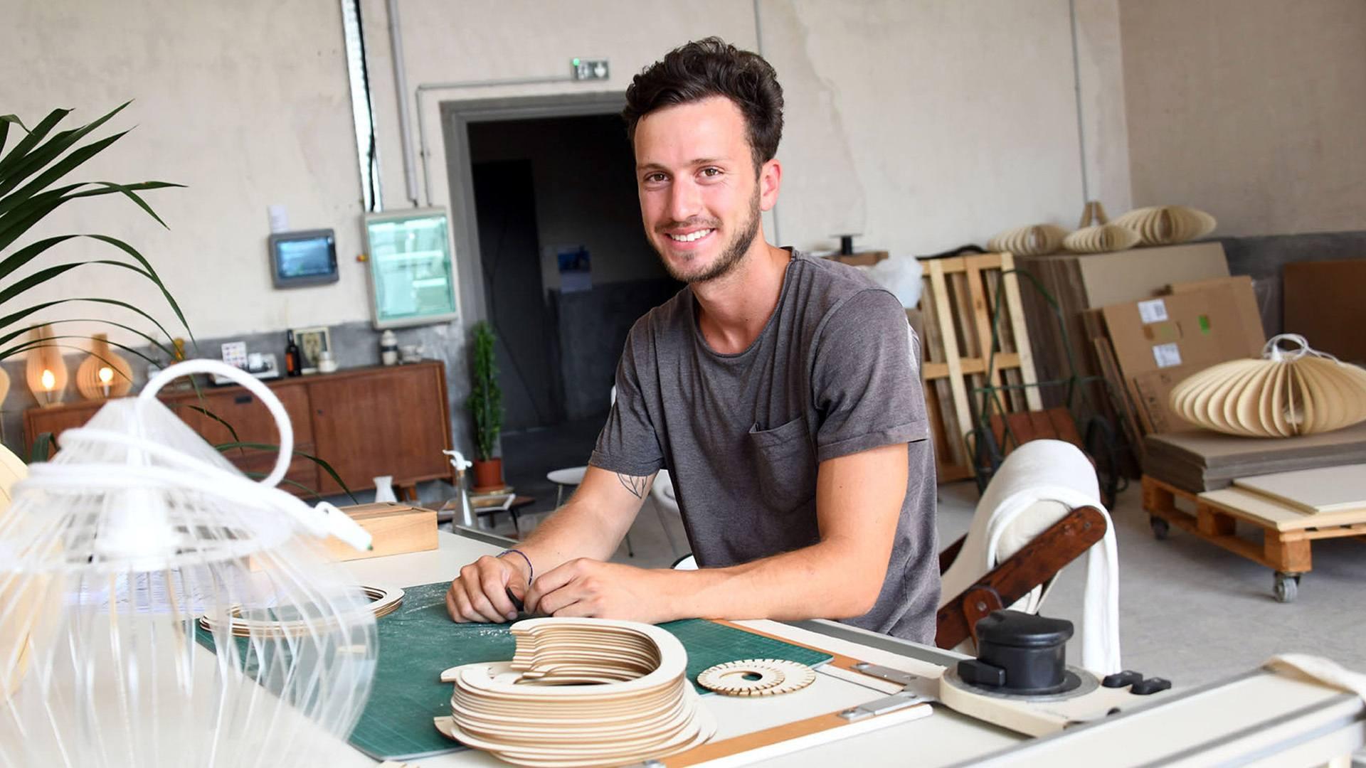 Robin Ieraci, designer d'objets écologiques