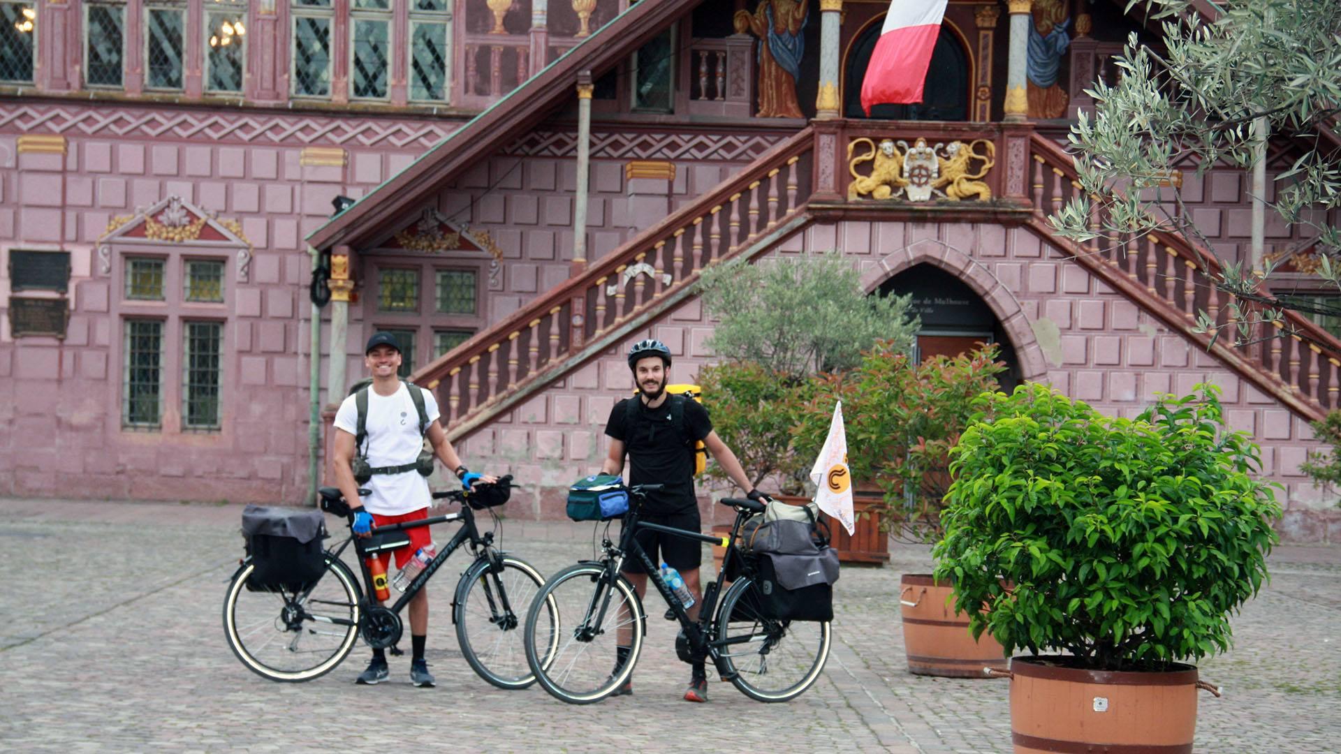 Tour de France à vélo pour deux Wittenheimois