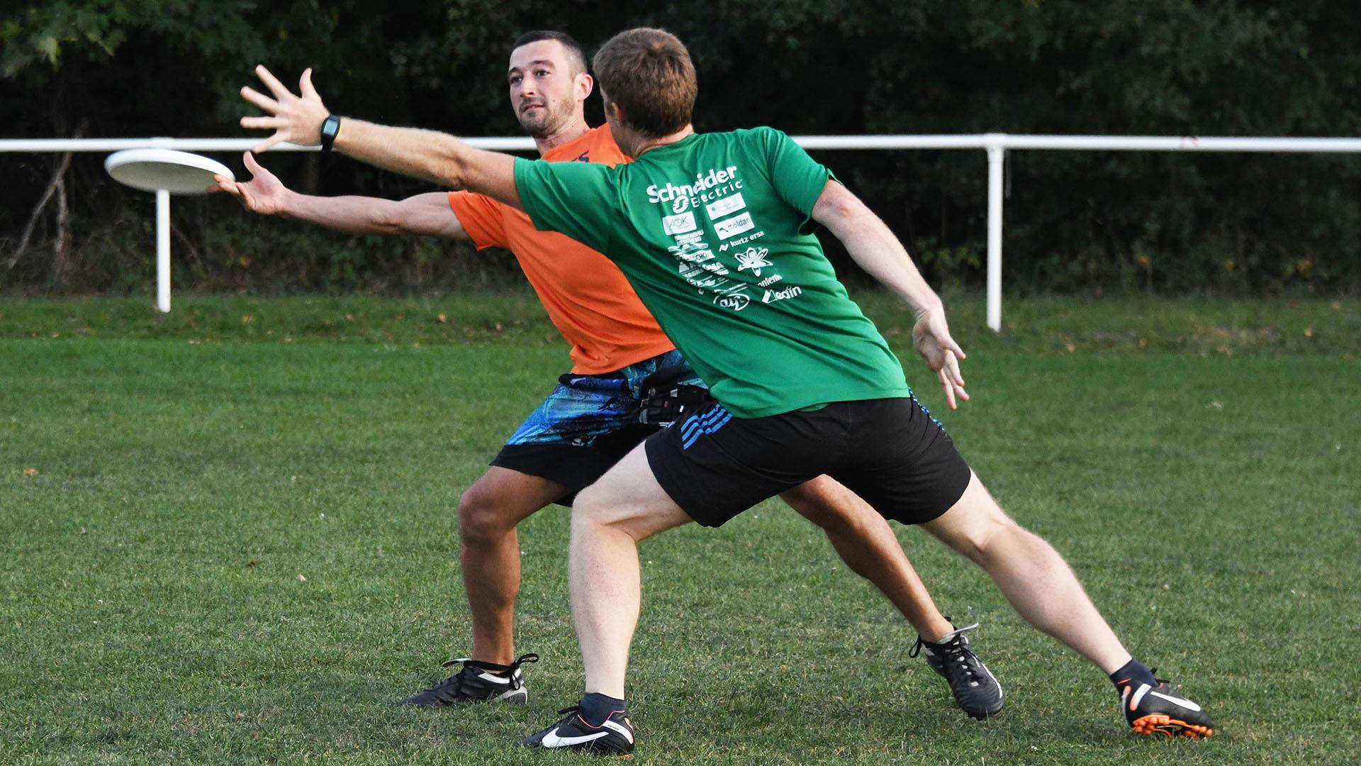 A Rixheim le premier club de frisbee du Haut-Rhin : un jeu intense