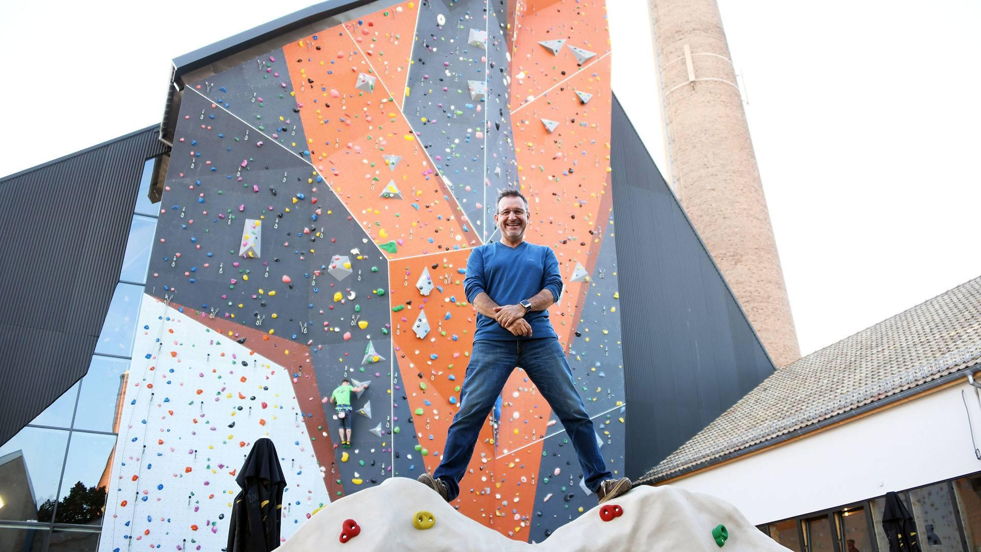 Climbing Mulhouse Center, on grimpe et on accroche : Bruce Coll, le patron du CMC