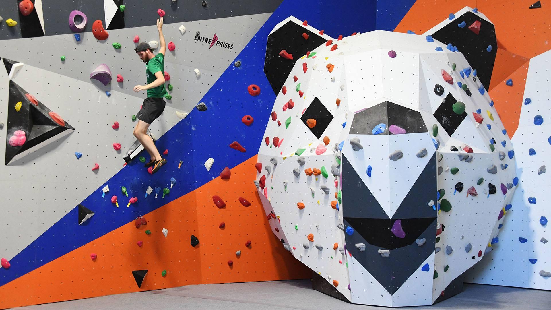 Climbing Mulhouse Center, on grimpe et on accroche : on s'accroche à Nanuk