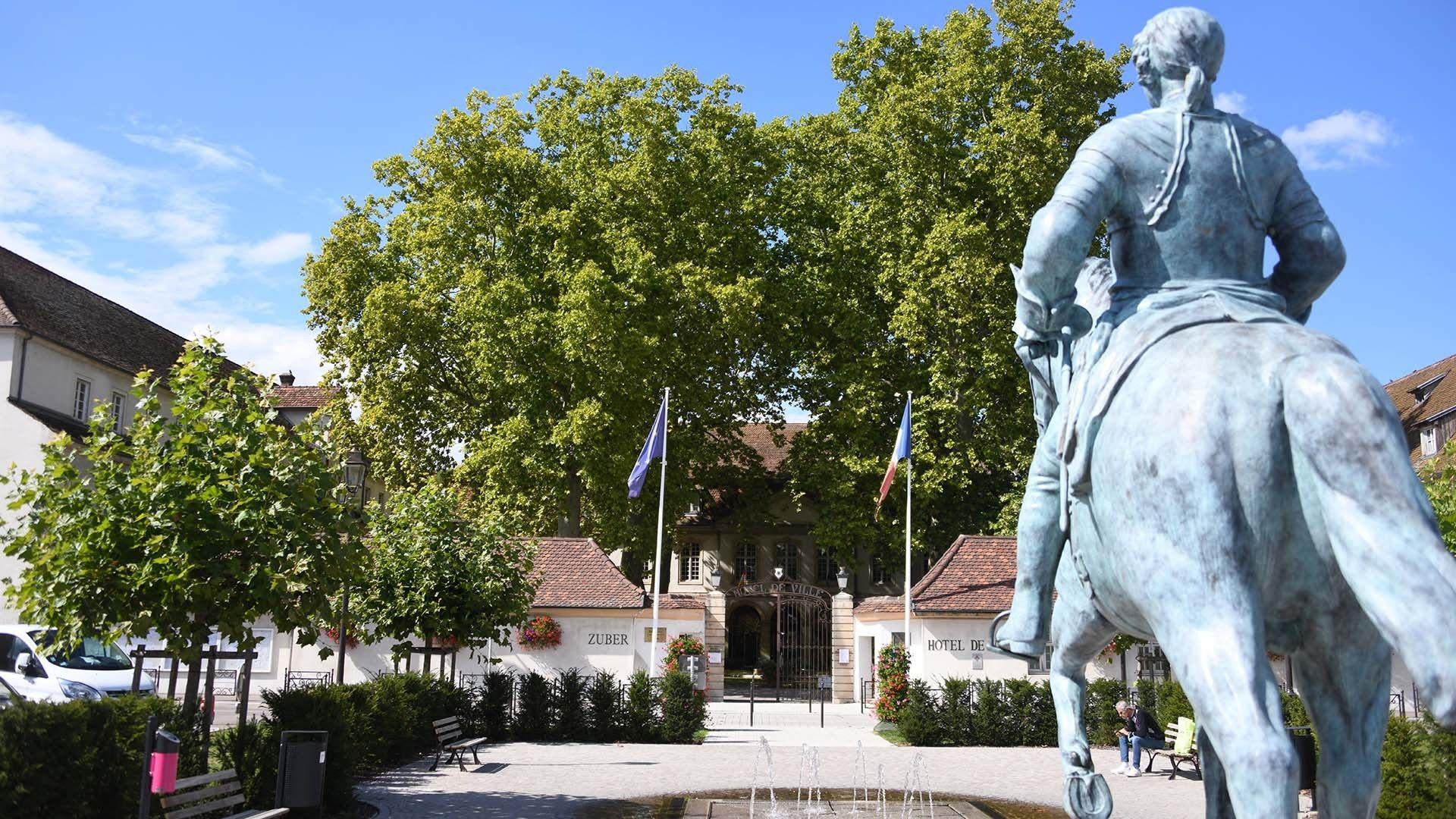 La place Philippe de Montjoie