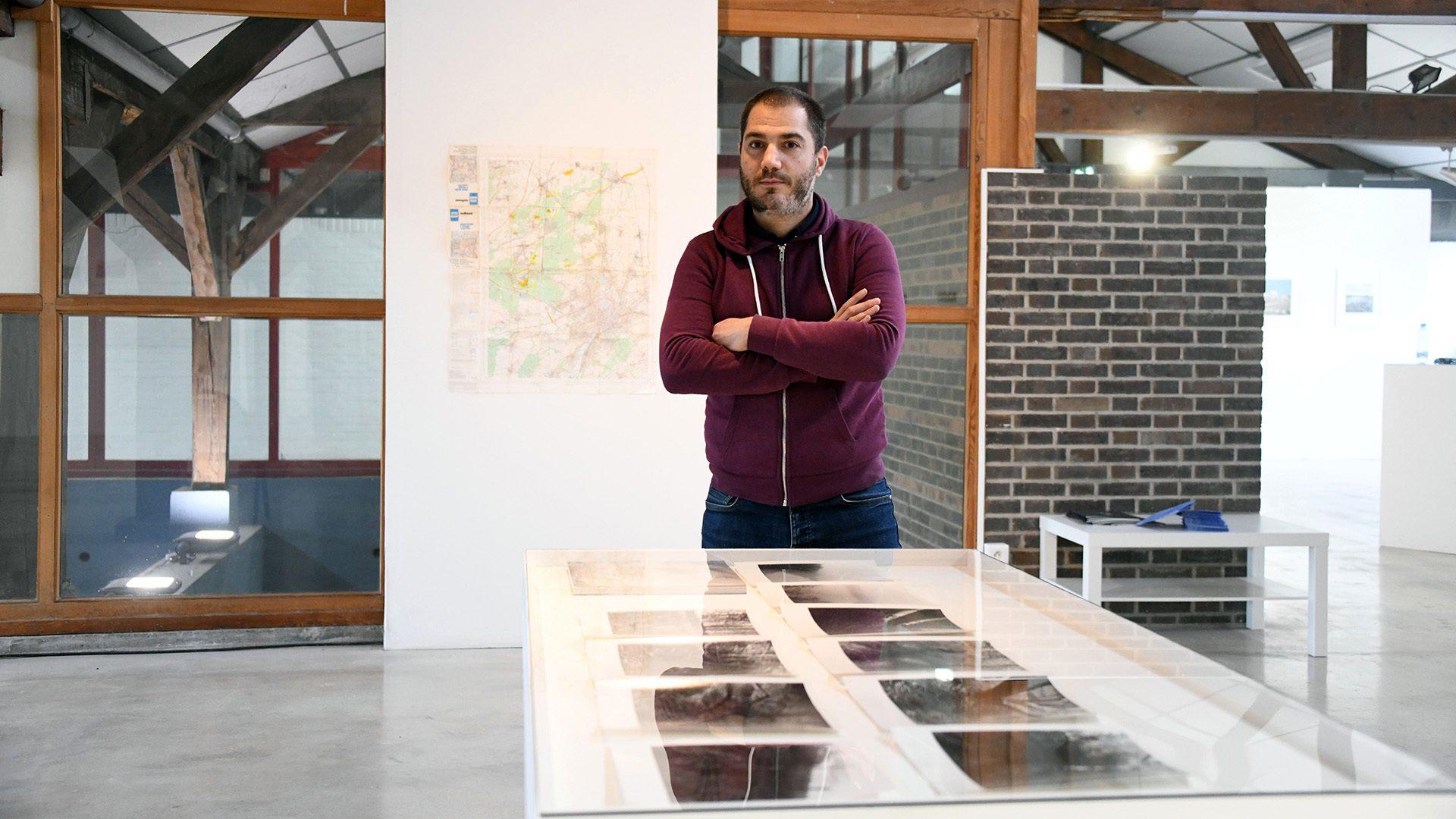 Exposition Pour tout le sel de la terre, Mickael Roy de Kingersheim, curateur de l'exposition