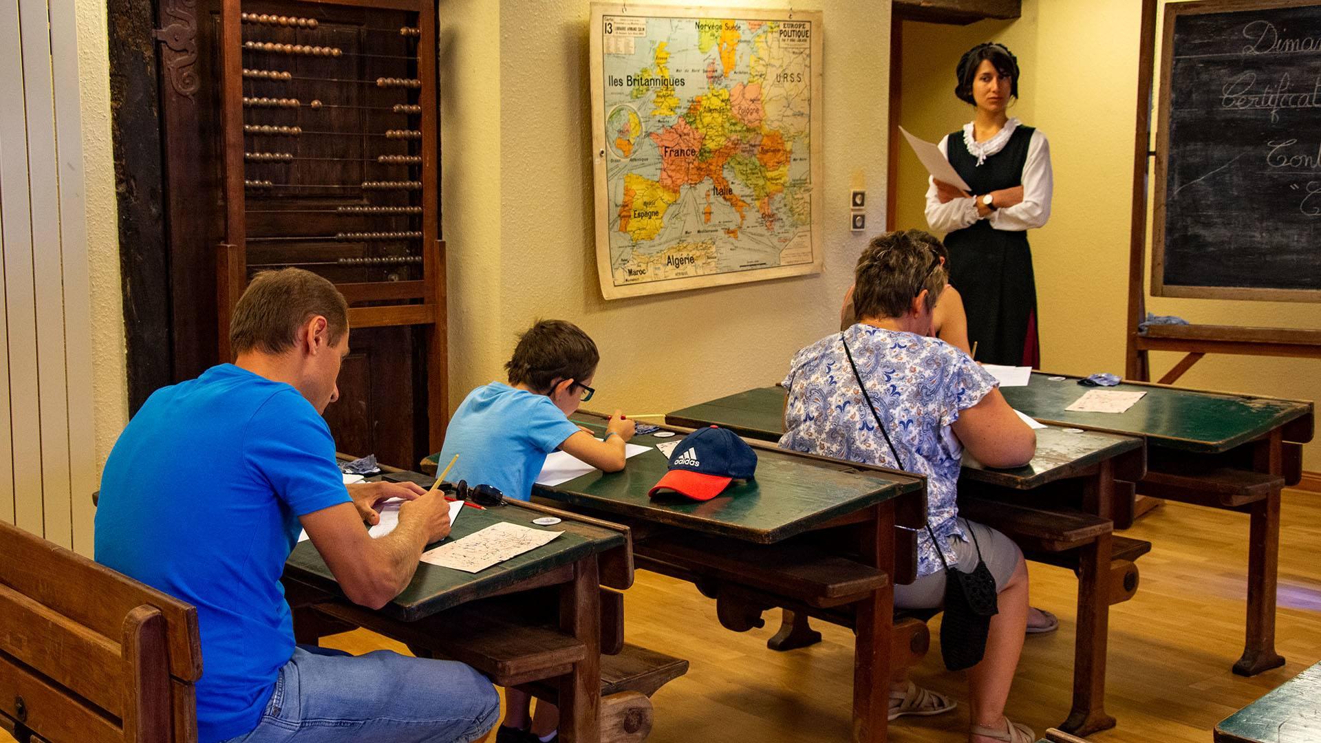 L'Ecomusée d'Alsace fait sa rentrée : redevenir écolier le temps d'une journée