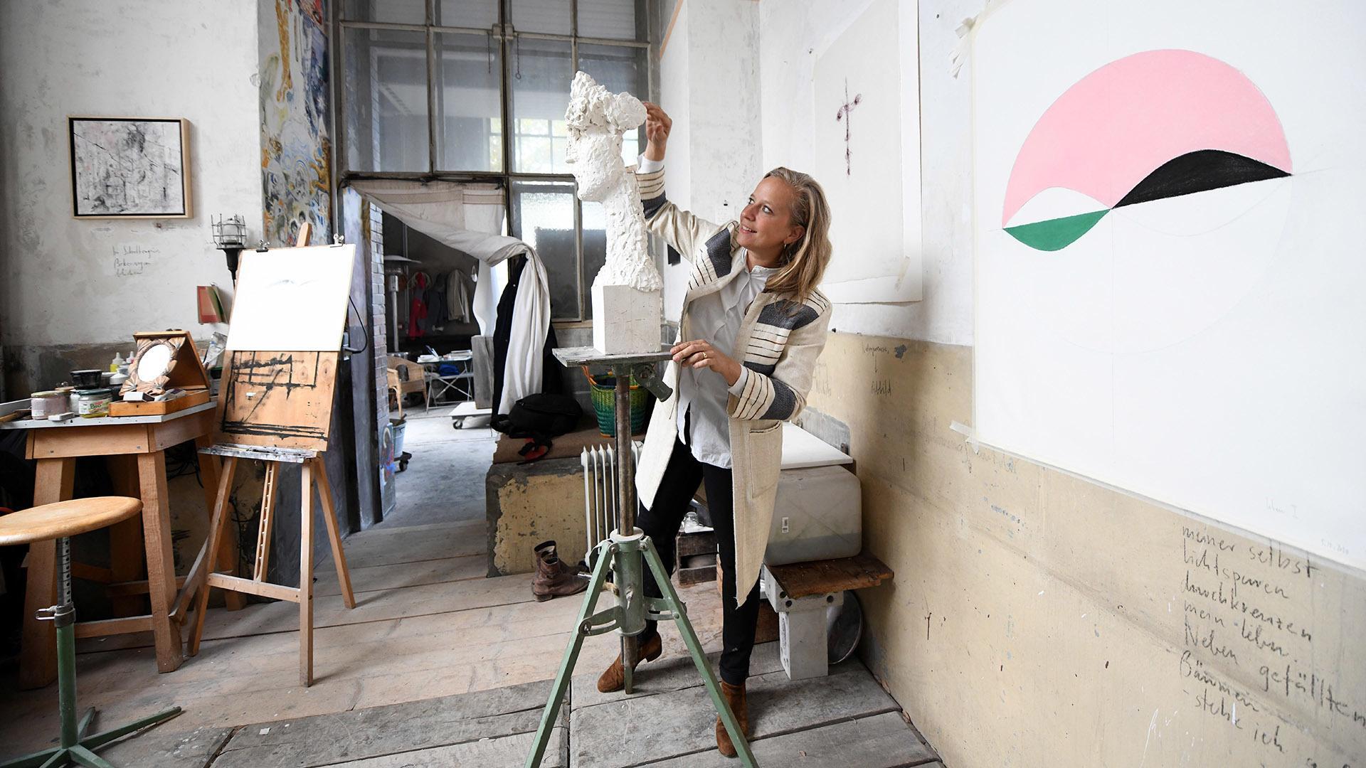 Barbara Schnetzler sculpter la vie : je rêvais d'être une artiste