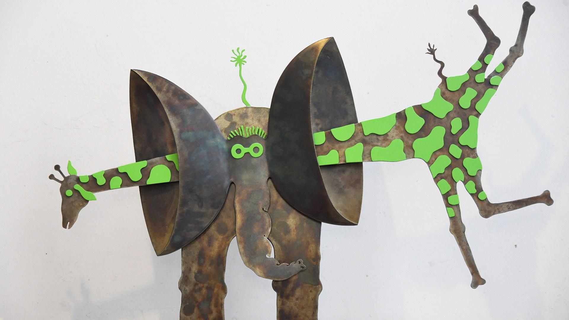 Sébastien Haller placticien sculpteur : l'enfance à portée de main