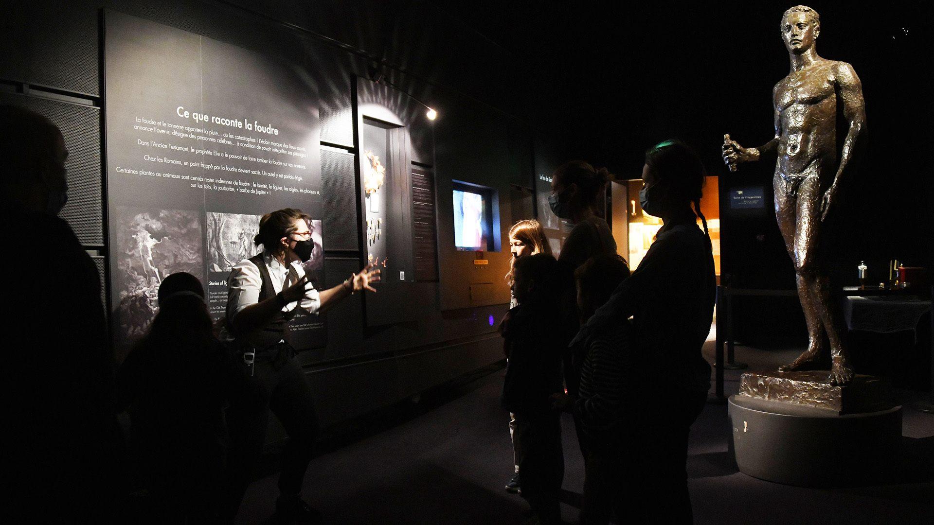 Venez vous faire peur au musée Electropolis : ce que raconte la foudre