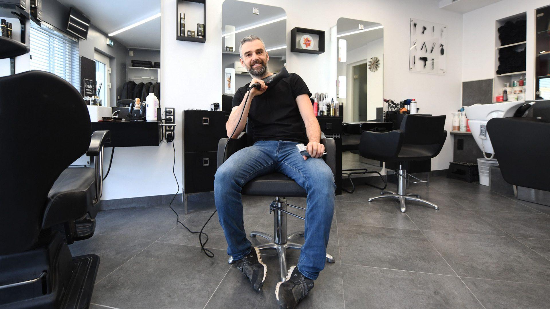 A Bollwiller un coiffeur créatif et connecté