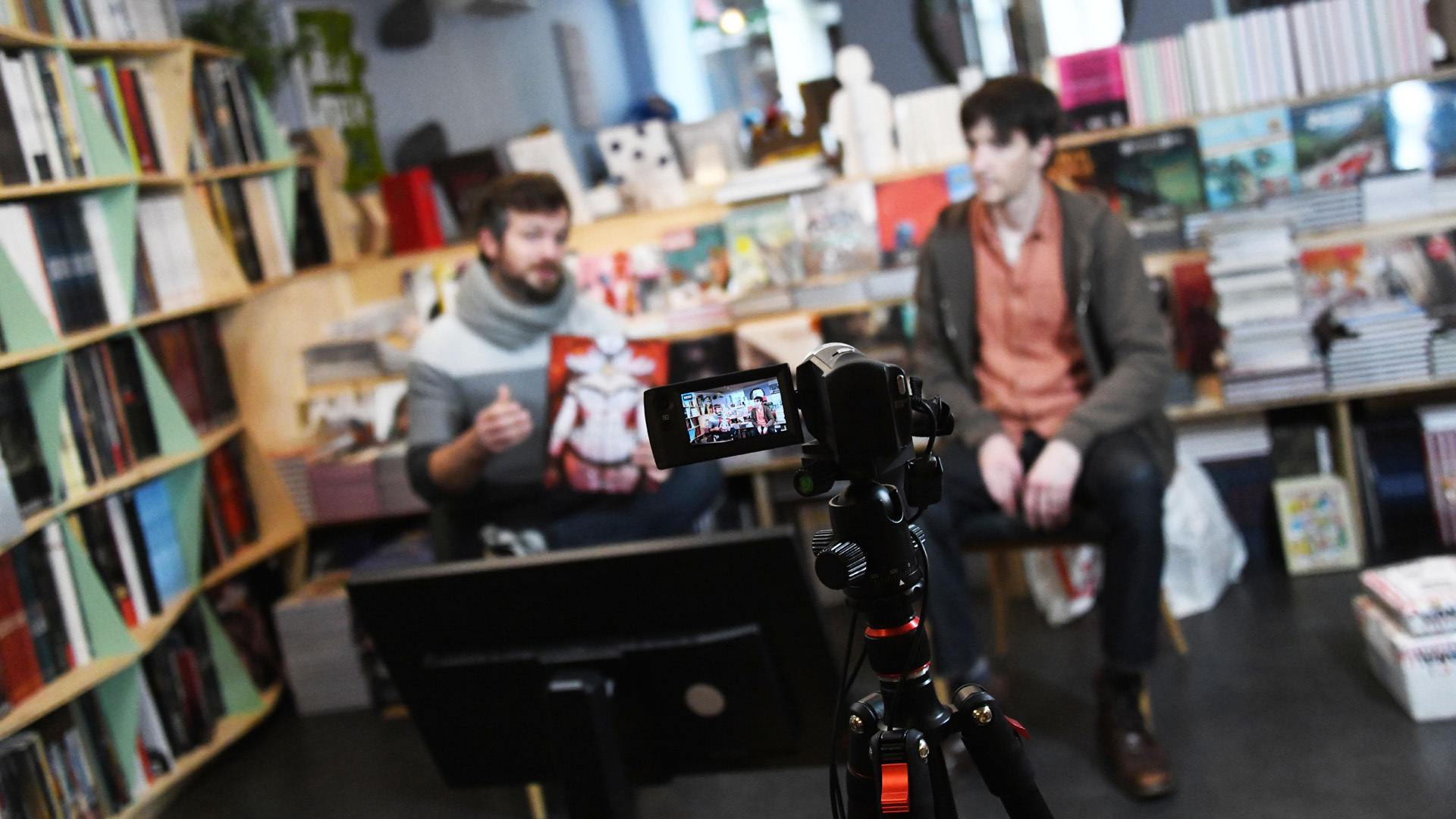 Canal BD Tribulles BouDoir de Léa une expérience deux en un à Mulhouse : les coups de coeurs de l'équipe en live
