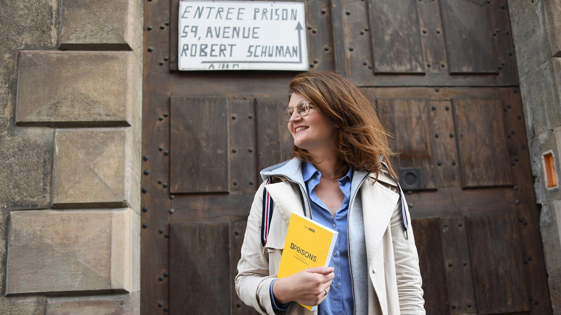 Collectif Walden pour une prison plus humaine : Jessica Vonderscher co-auteure de l'ouvrage #prisons