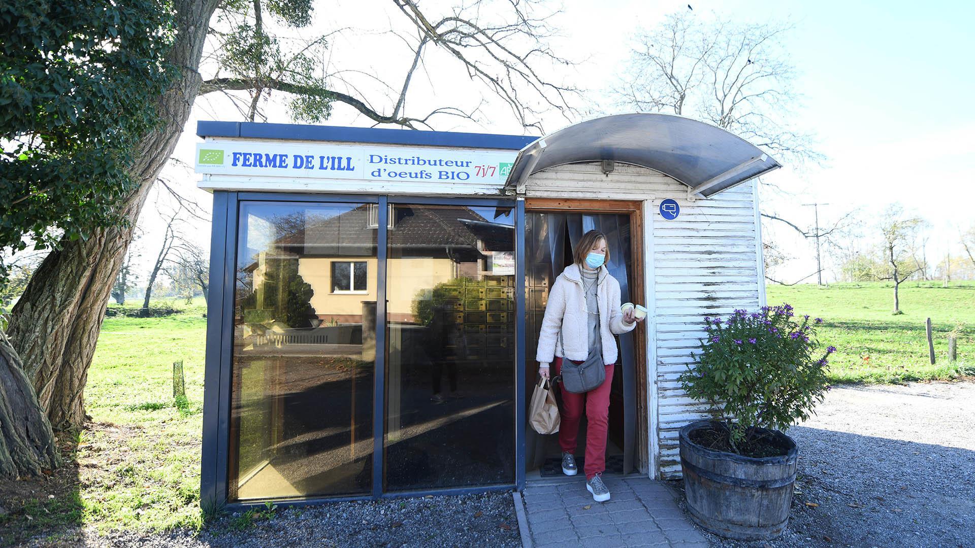 Du panier au casier fraicheur : Le distributeur de la ferme de l'Ill