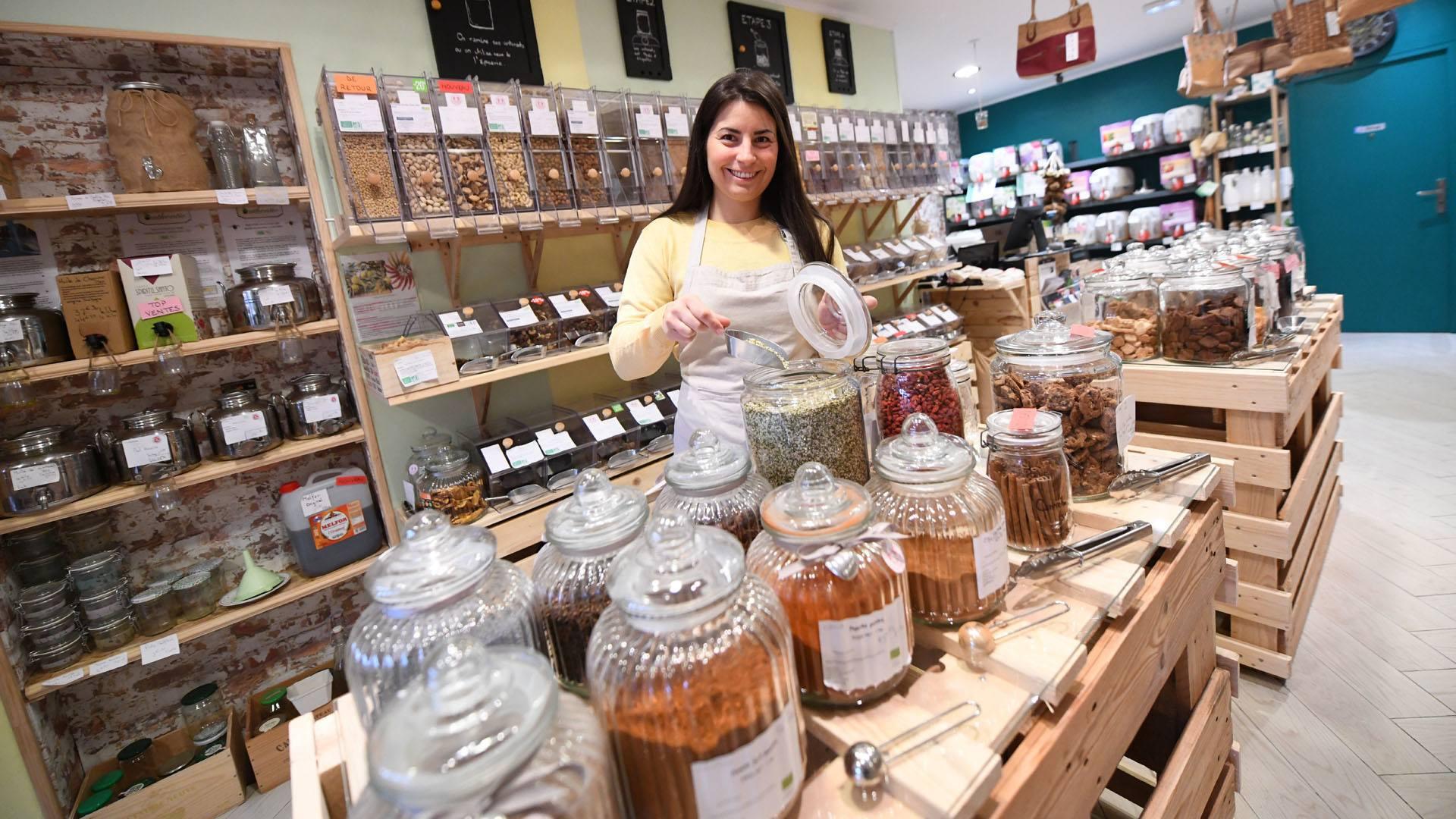 Eco'Vrac une épicerie zéro déchet à Mulhouse : Maud Roucayrols vous donne ses trucs et astuces