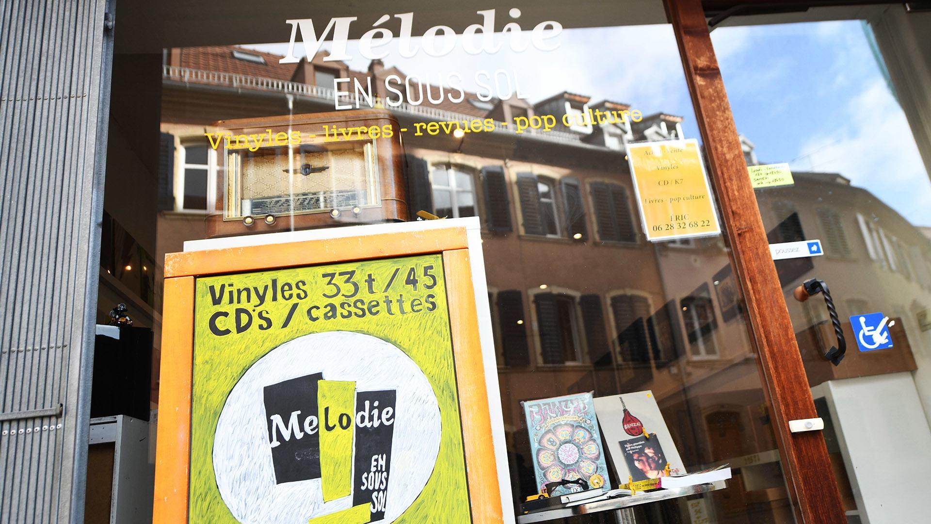 Mélodie en sous-sol le vinyl superstar : la boutique Mélodie en sous-sol