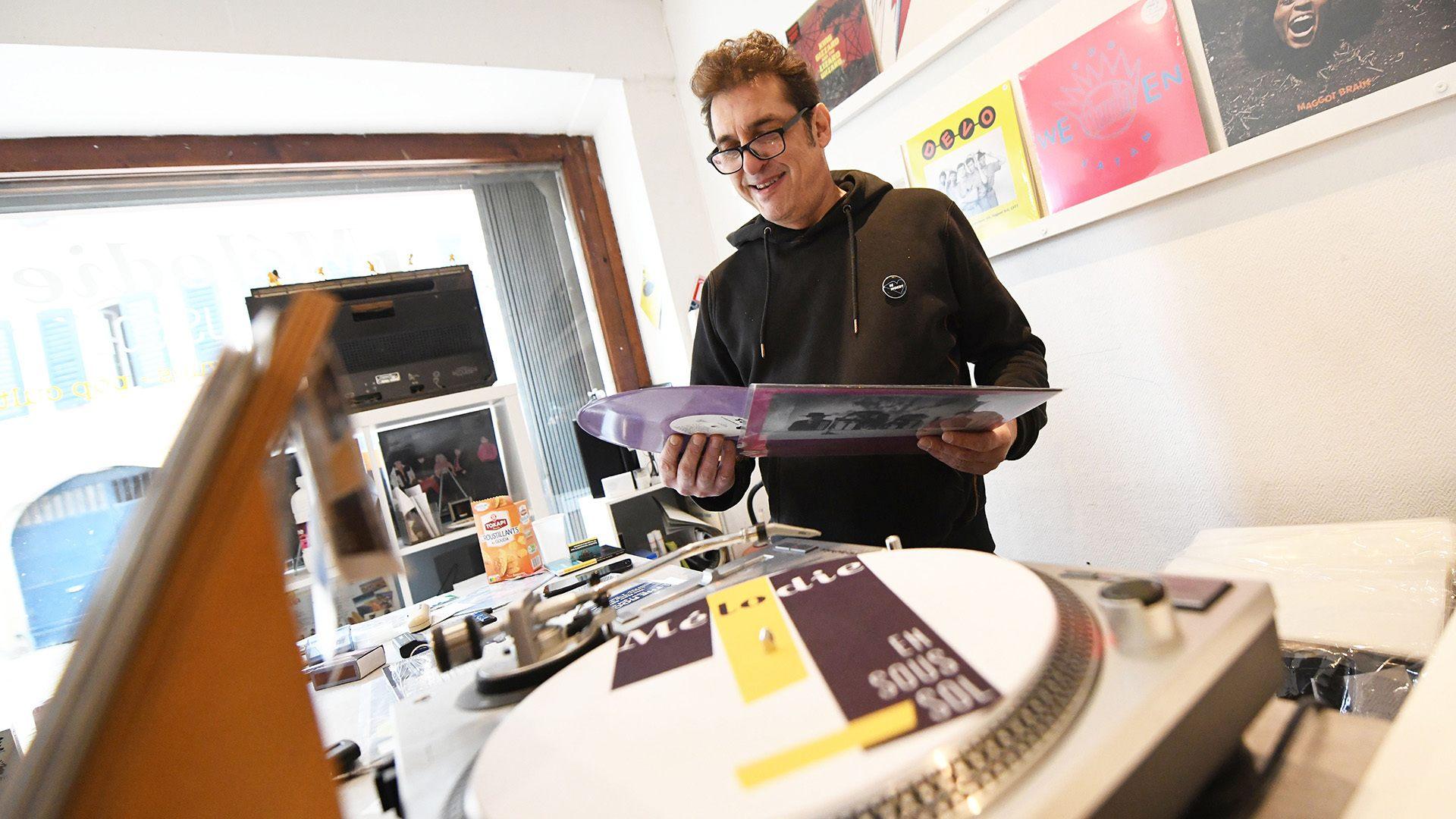 Mélodie en sous-sol le vinyl superstar
