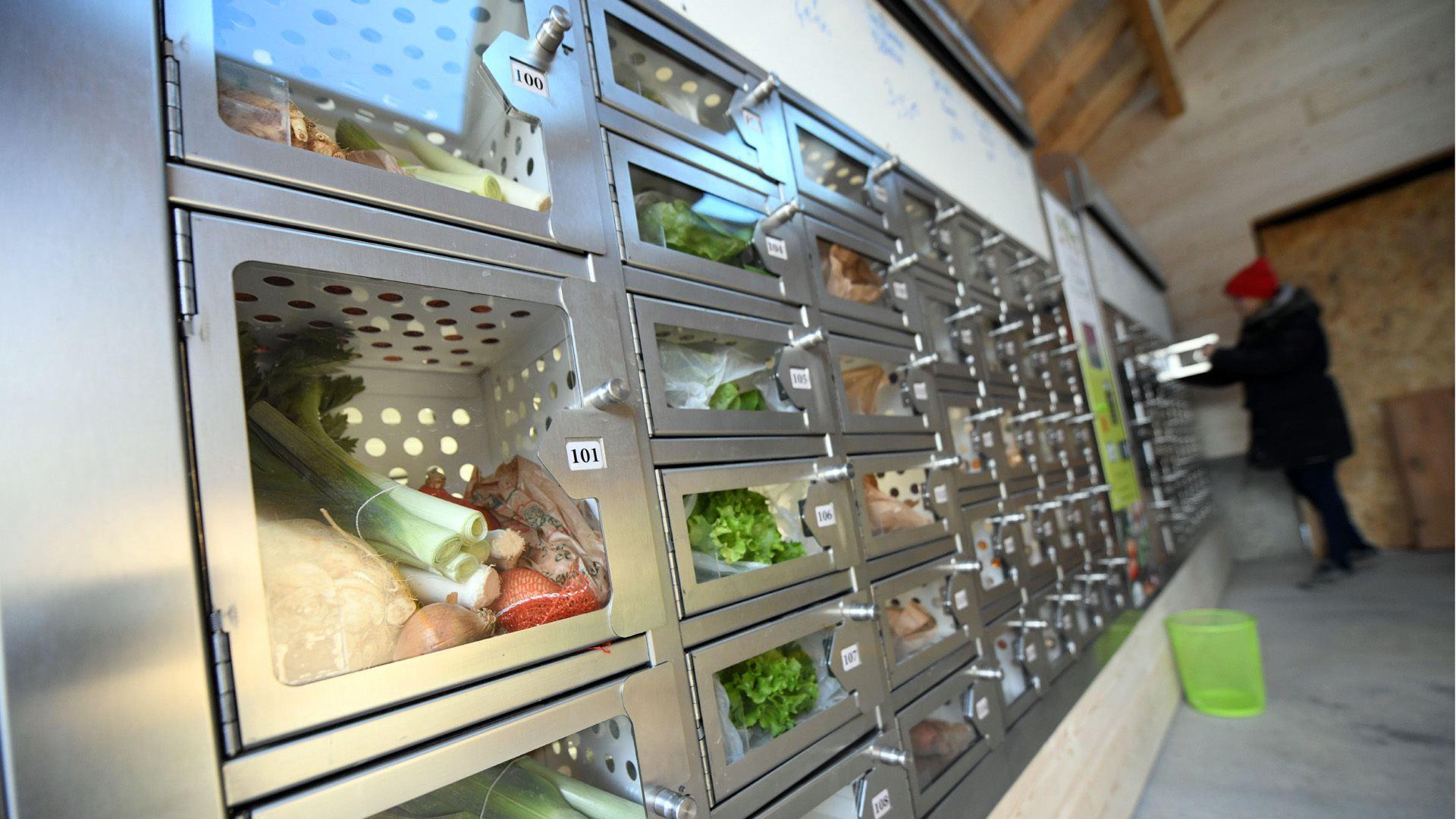 Zimmersheim un distributeur automatique pour la ferme Fischer : des achats en toute autonomie : circuit court et produits de saison
