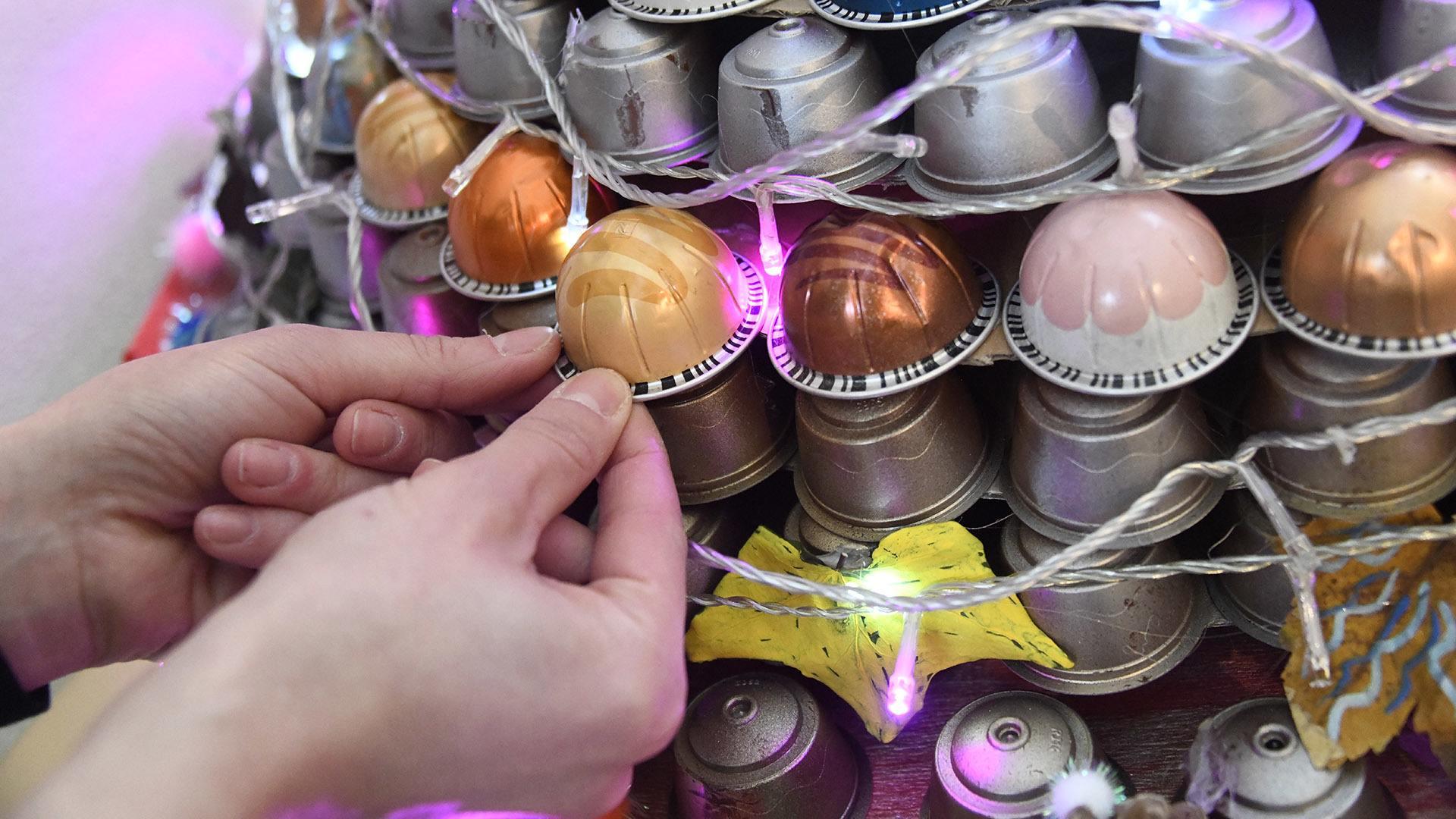 Mon beau sapin en capsules : les parents ont fourni les capsules