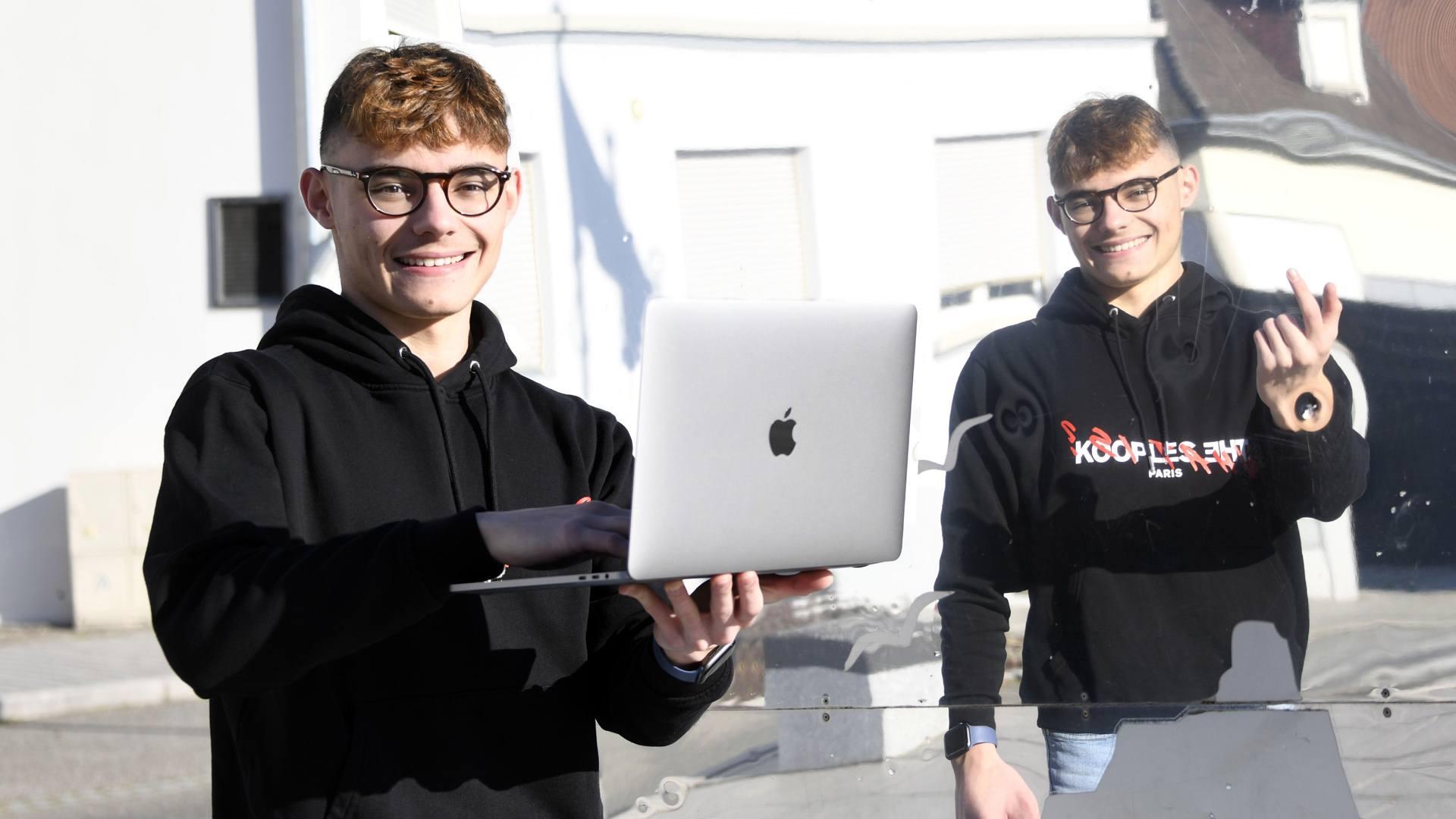 ProxHelper création de sites web made in Illzach : Antonin Schirck étudiant et entrepreneur