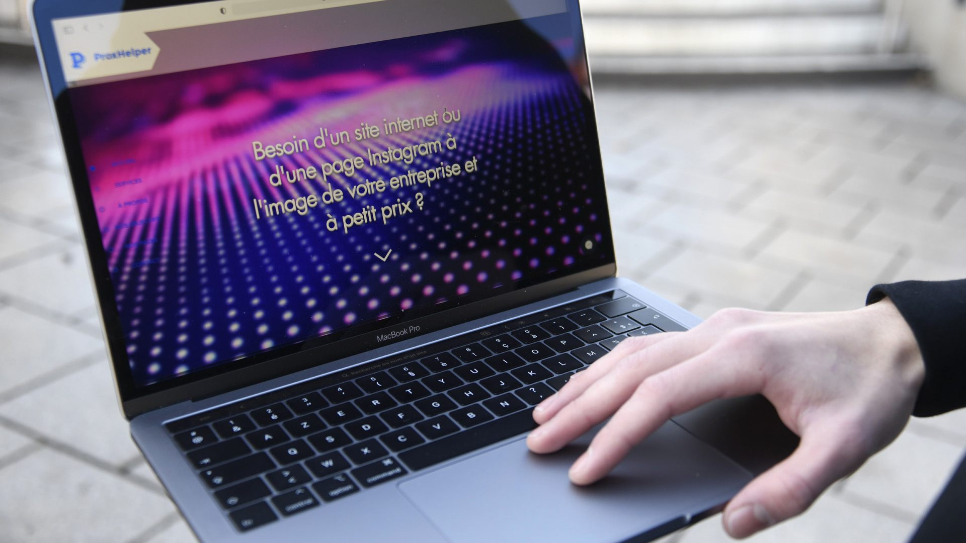 ProxHelper création de sites web made in Illzach : ProxHelper la jeune start-up d'Antonin